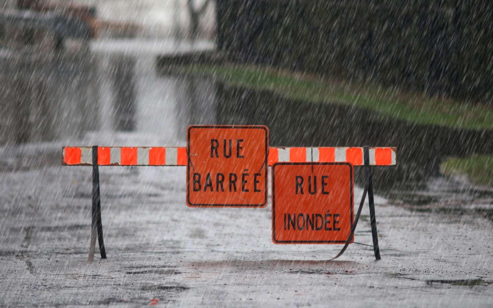 Début 2018, différentes régions françaises ont connu des inondations liées au passage de la tempête Eleanor. © mario beauregard, Fotolia