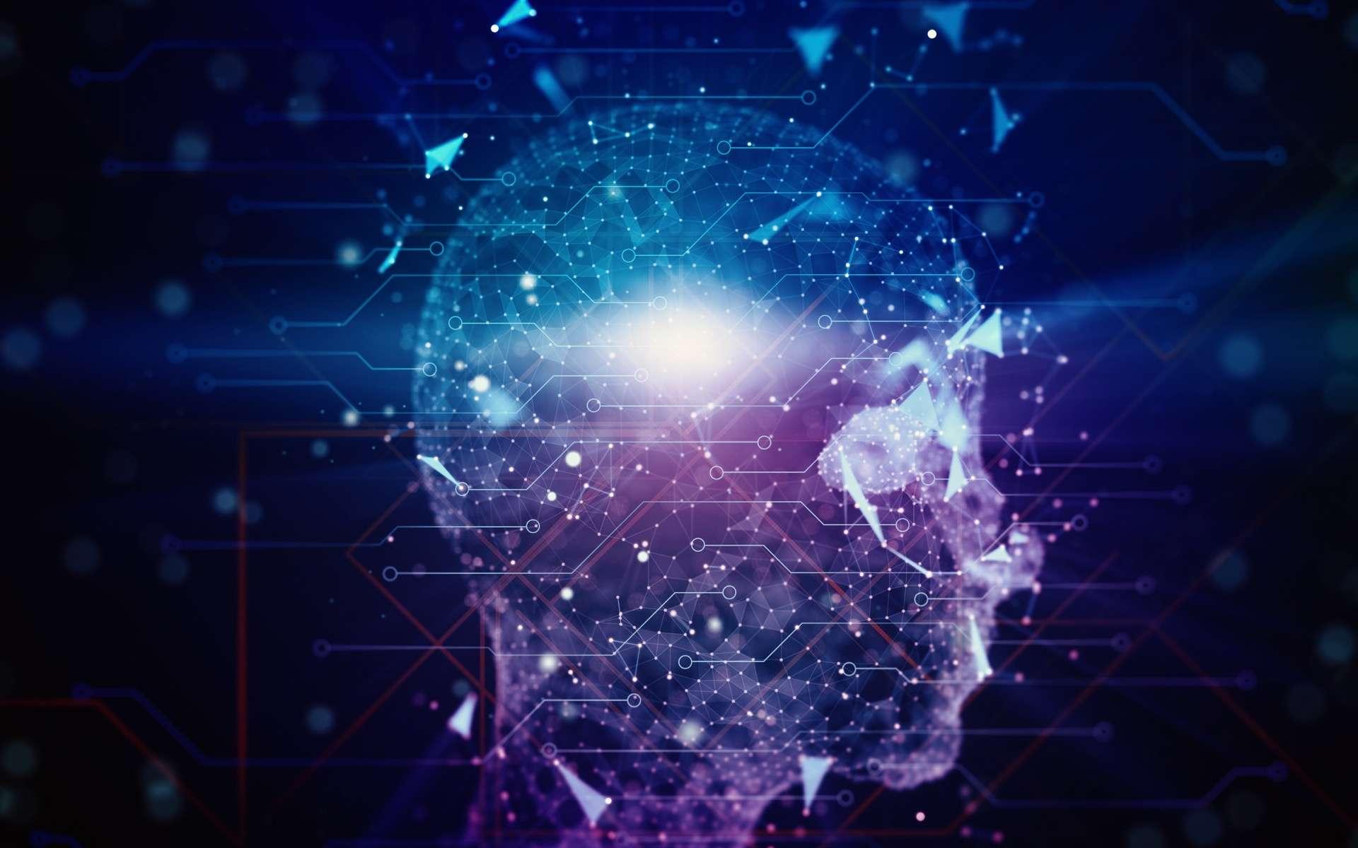 Pour pirater des données informatiques, Case doit connecter son cerveau à la matrice. © Igor, Adobe Stock