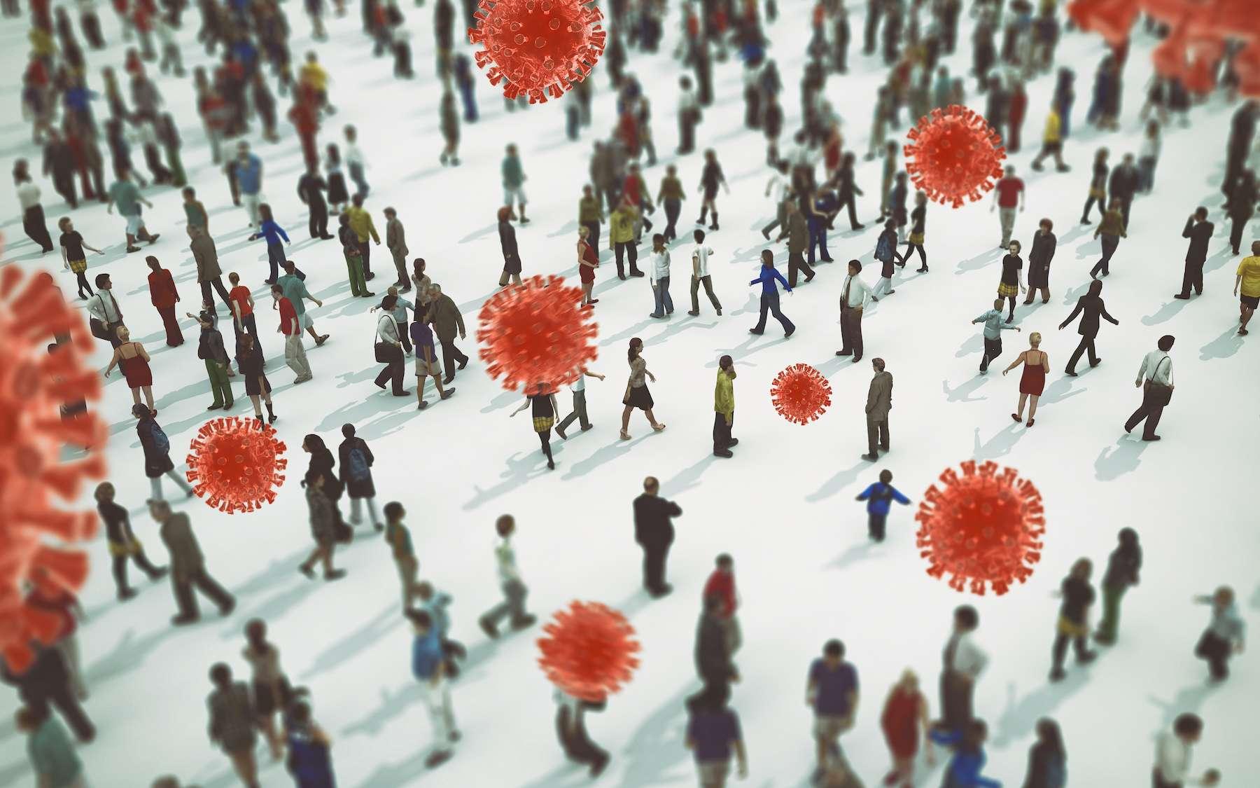 Le vaccin réduit le risque d'être infecté par le coronavirus. © alphaspirit, Adobe Stock