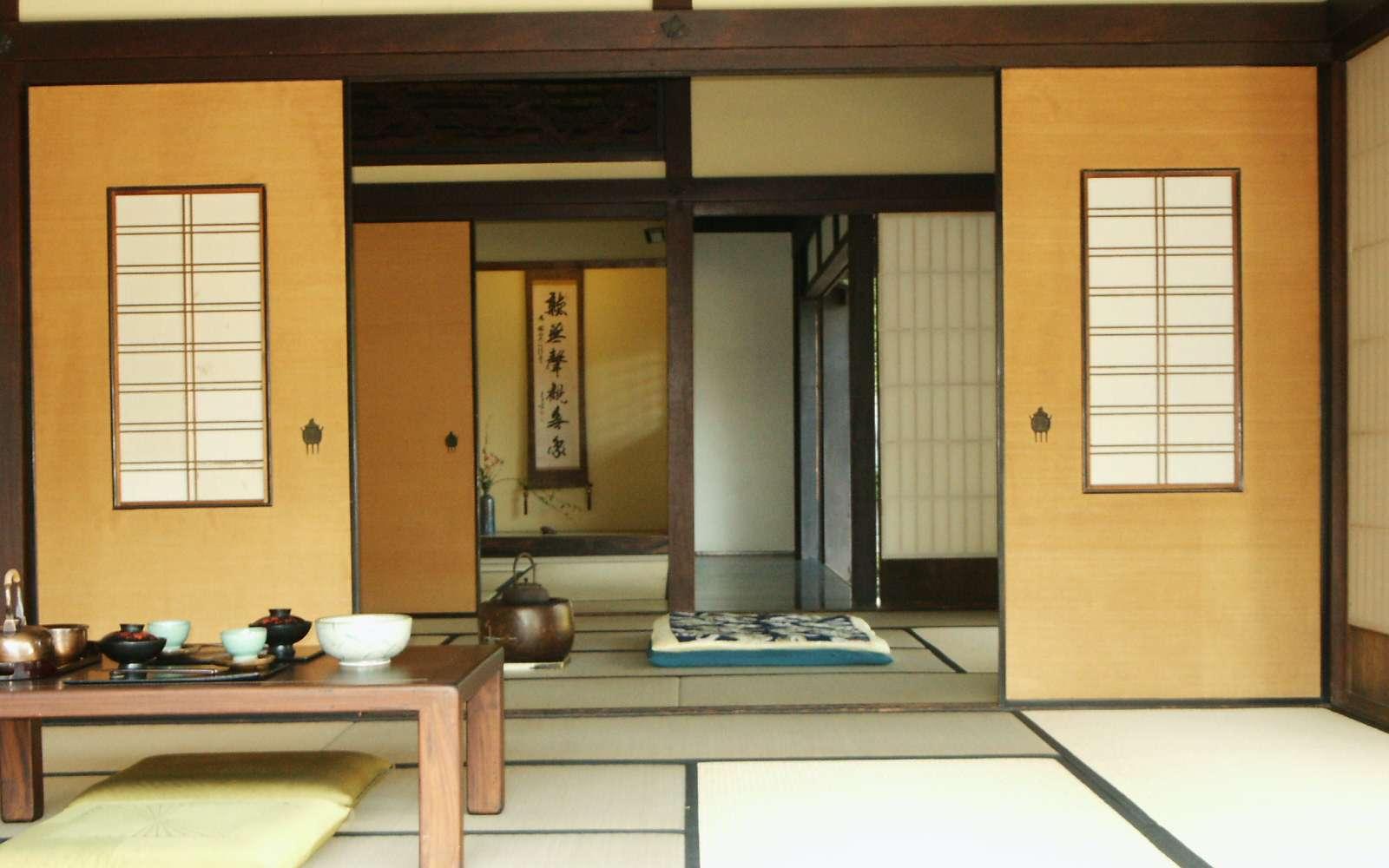 Installer une cloison japonaise permet un gain de place incontestable. © Dominus Vobiscum, Flickr, CC BY-SA 2.0