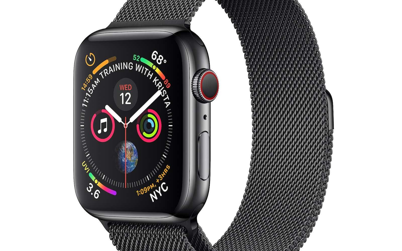 Les brevets déposés par Apple ces derniers jours permettent d'en savoir plus sur les prochaines versions de son Apple Watch © Apple