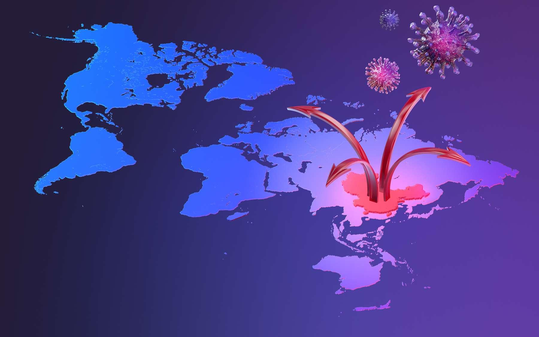 Comment le coronavirus circulait avant sa détection en Chine ? © Borealis, Adobe stock
