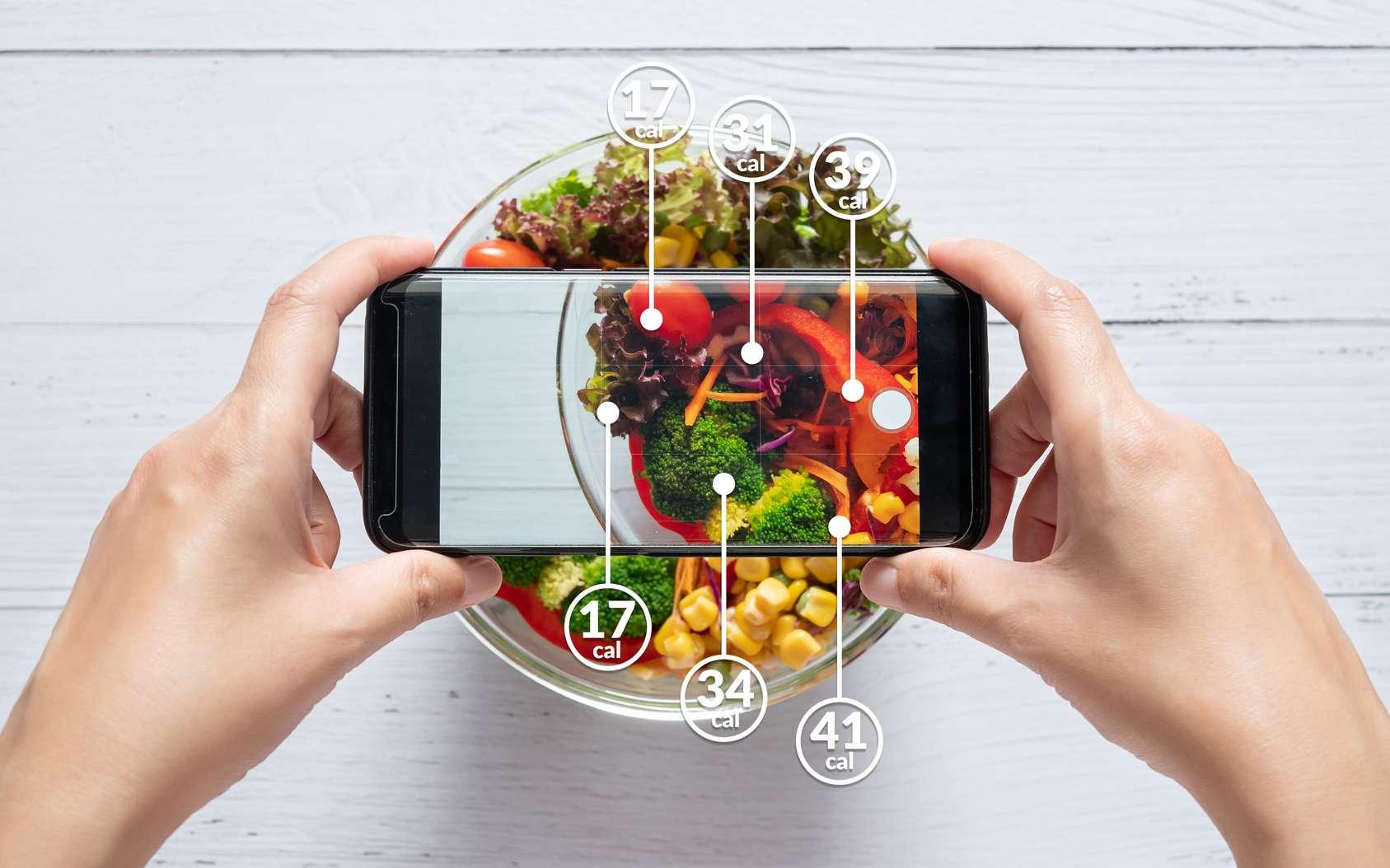 Des aliments vus comme une somme de calories. © asiandelight, Fotolia