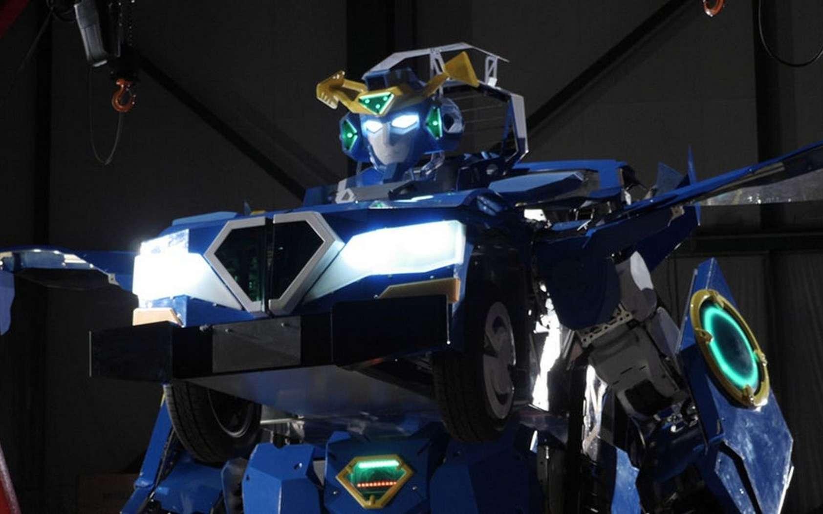La voiture Transformer J-deite RIDE de Brave Robotics. © Brave Robotics
