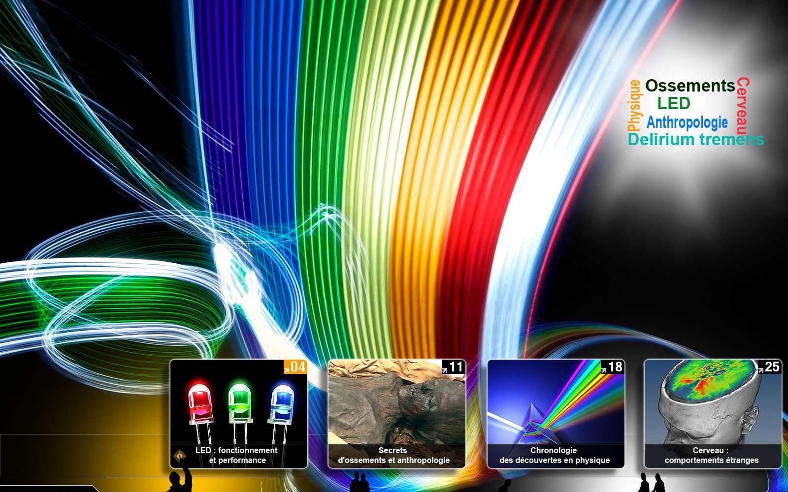 Les dossiers du mois de novembre sur Futura-Sciences. © Futura-Sciences