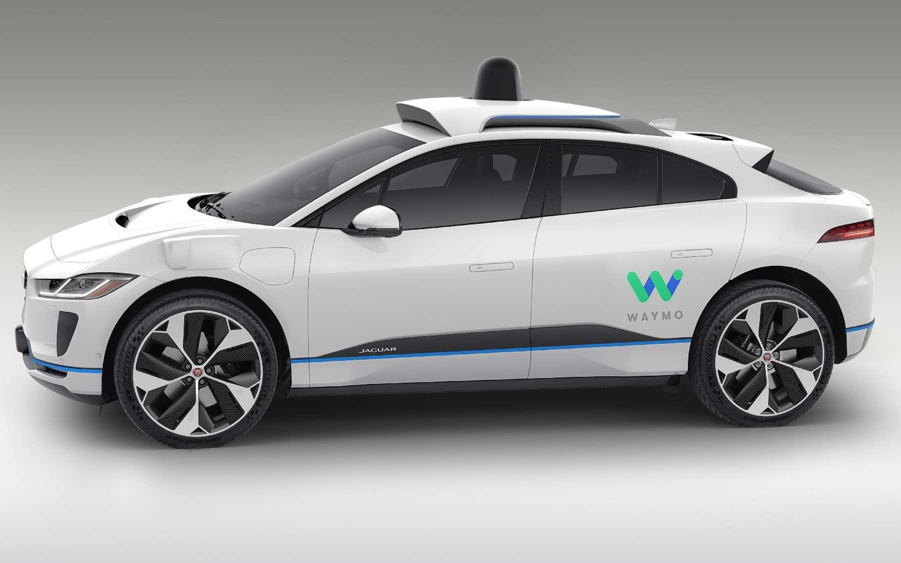 La Jaguar I-Pace équipée du système de conduite autonome de Waymo. © Waymo