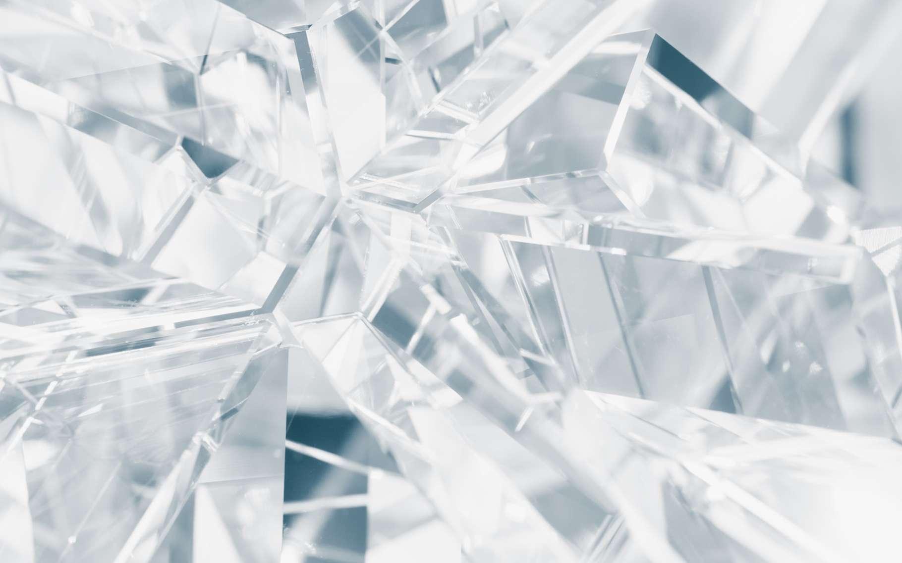 Grâce à des travaux réalisés par des chercheurs américains, il pourrait bientôt être possible de dessiner des circuits électriques dans des cristaux transparents et en 3D. Le tout d'une manière non définitive et reconfigurable à souhait. © nikkytok, Fotolia