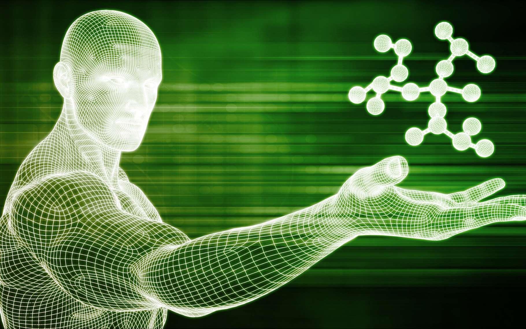 Des scientifiques britanniques ont mis au point une technique qui leur permet de manipuler et de contrôler des molécules uniques lors de réactions chimiques. © kentoh, Fotolia