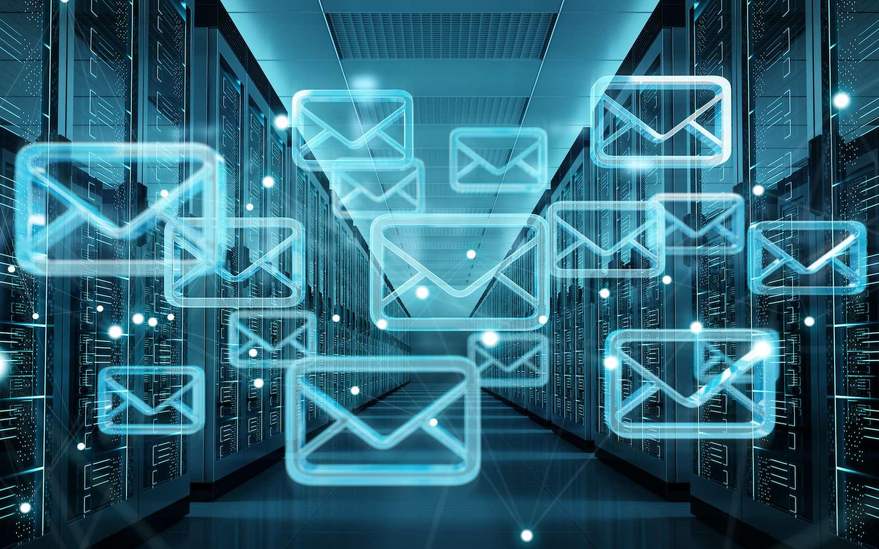 Le protocole IMAP synchronise les messages entre le serveur et le client de messagerie. © sdecoret, Adobe Stock