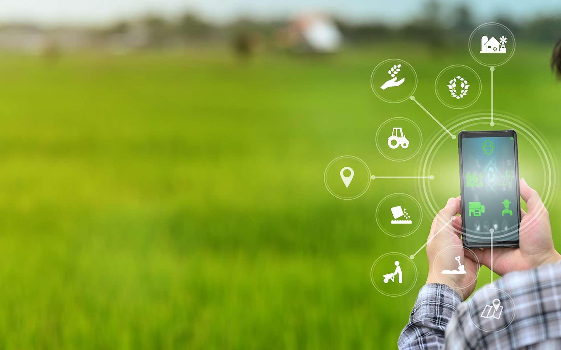 Les innovations technologiques investissent aussi les champs et profitent à des agriculteurs soucieux de s'intégrer dans un modèle de développement durable. © sodawhiskey, Adobe Stock