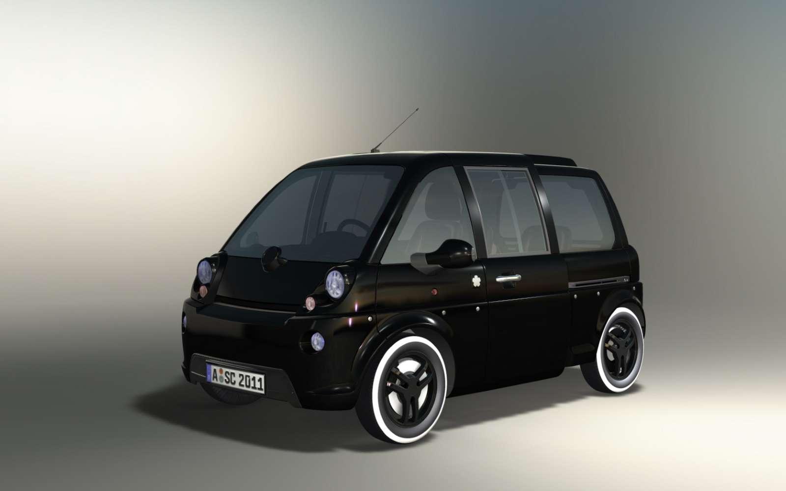 La petite Mia, issue du Poitou, pourrait renaître en Europe de l'Est en version 2.0. © Fox E-Mobility