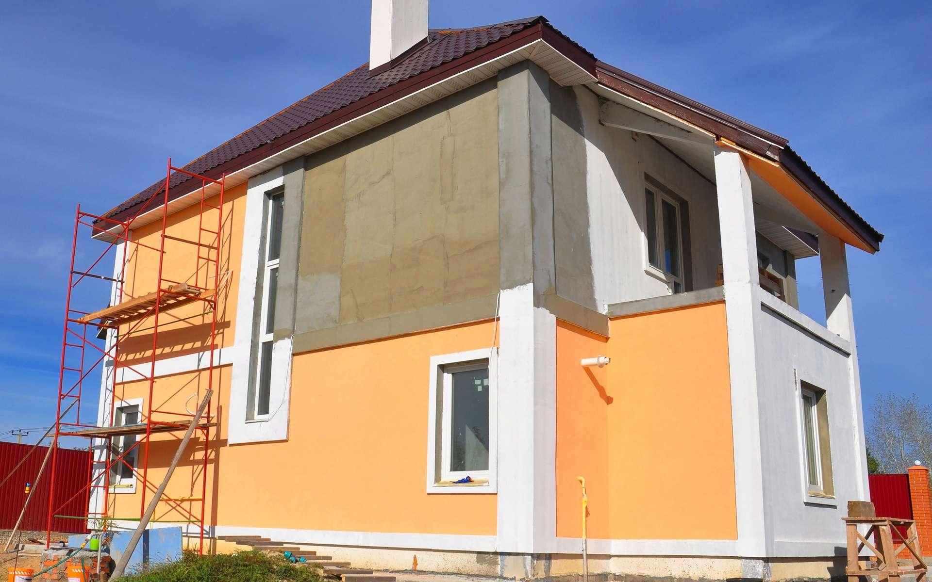Travaux de peinture de façade © bildlove, AdobeStock
