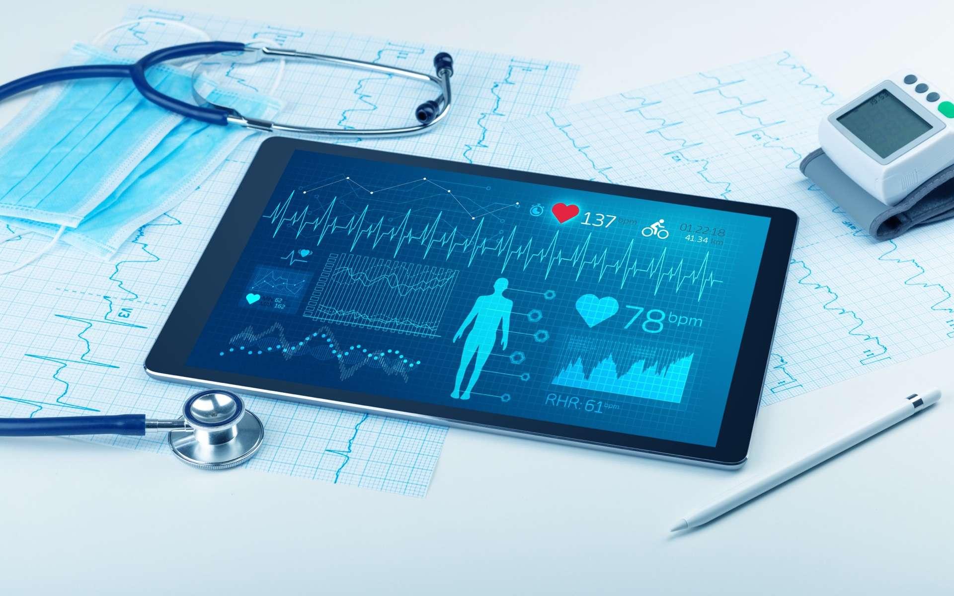 Avec CoviDIAB, les patients diabétiques confinés en période d'épidémie Covid-19 disposent d'une application nationale d'information, de prévention et d'accompagnement en ligne. © ra2 studio, Adobe Stock
