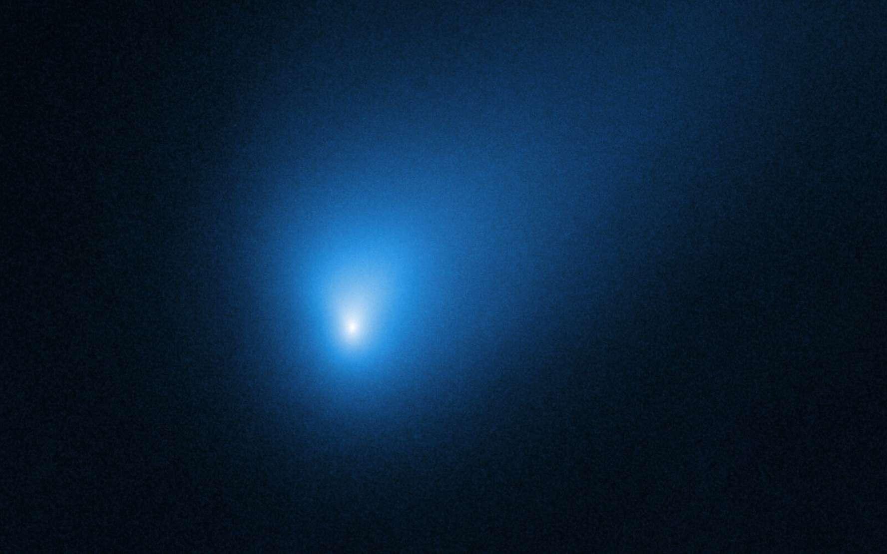Portrait de la comète interstellaire 2I/Borisov par e télescope spatial Hubble. © Gemini Observatory, NSF, AURA