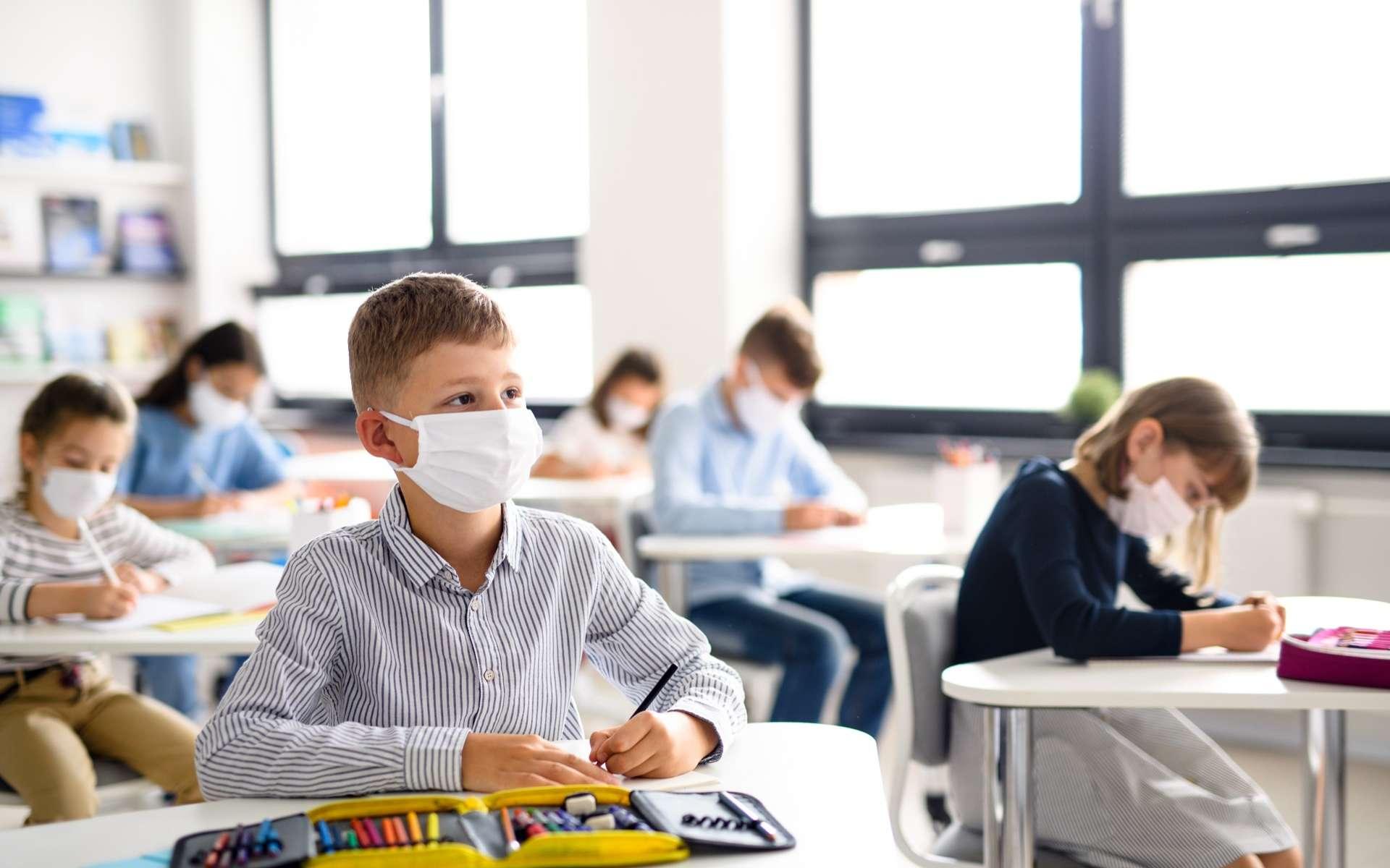 La fermeture des écoles pourrait être à l'origine de perte en matière de gains d'apprentissage. © Halpoint, AdobeStock
