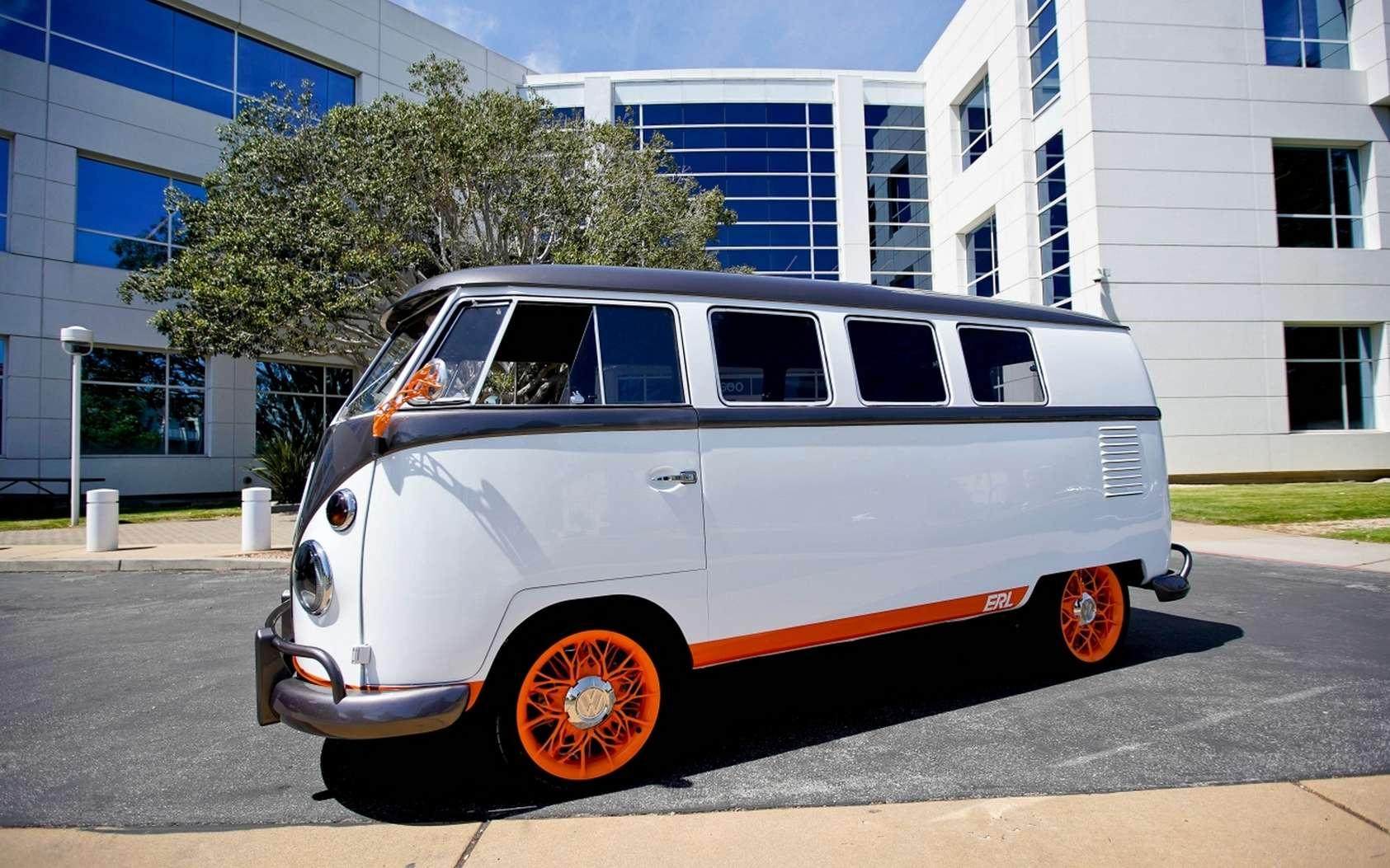 Le combi VW Type 20 remanié par Volkswagen. © Volkswagen
