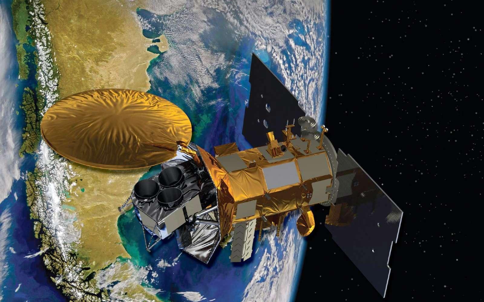 Sac-D est un satellite argentin d'observation de la Terre, auquel ont participé de nombreux pays, dont la France, en fournissant des instruments. Son lancement est prévu le 9 juin. © Nasa