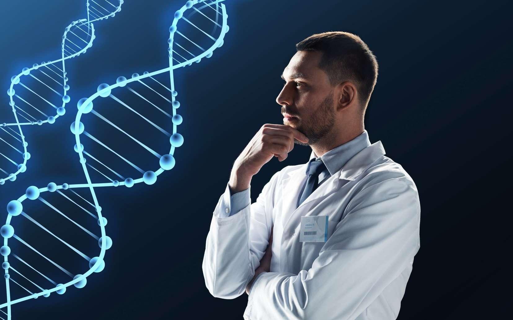 Le code génétique établit la correspondance entre un acide aminé et un triplet de nucléotides. © Syda Productions, Fotolia