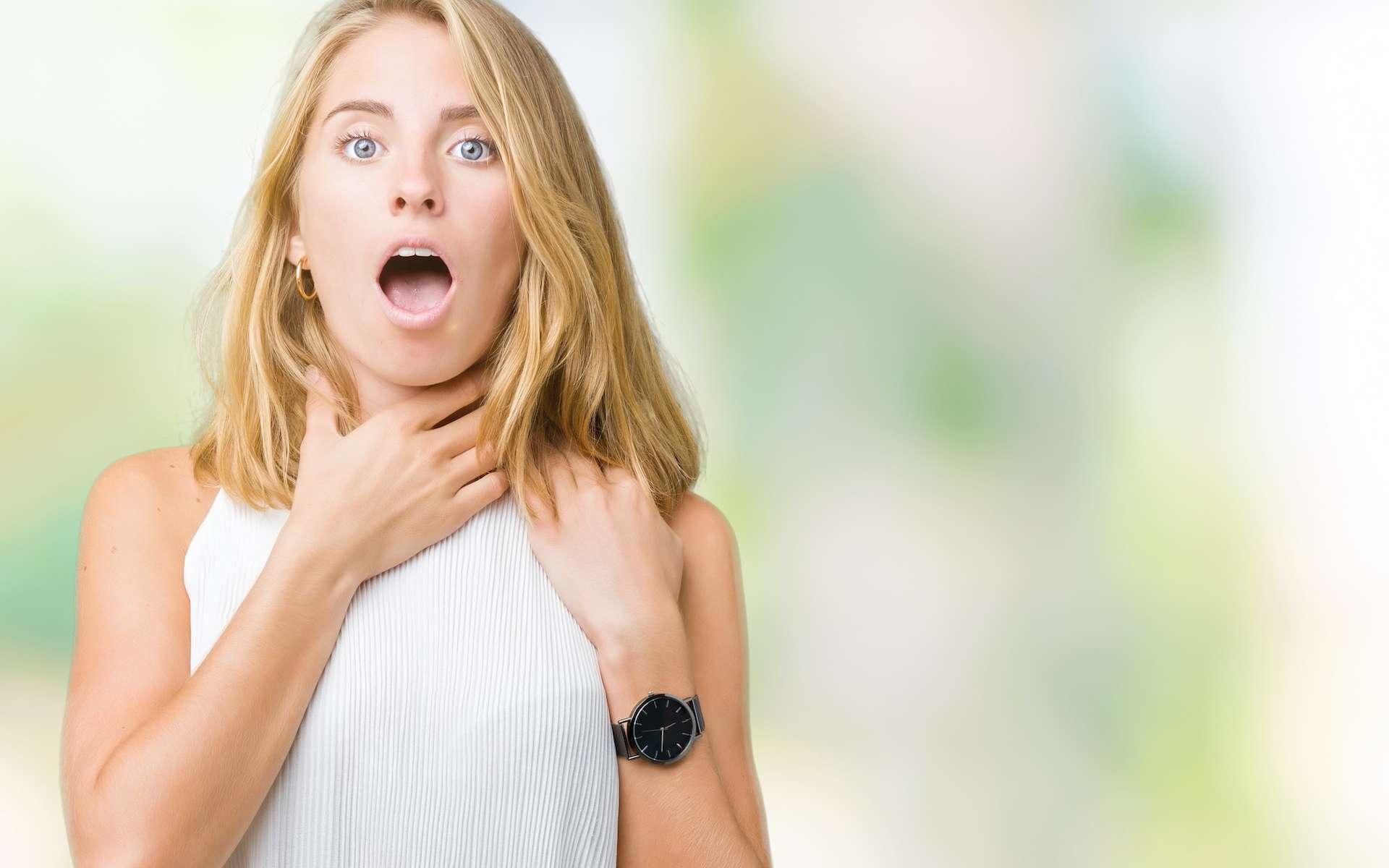 La dyspnée se manifeste par la sensation de manquer d'air. © Krakenimages.com, Adobe Stock