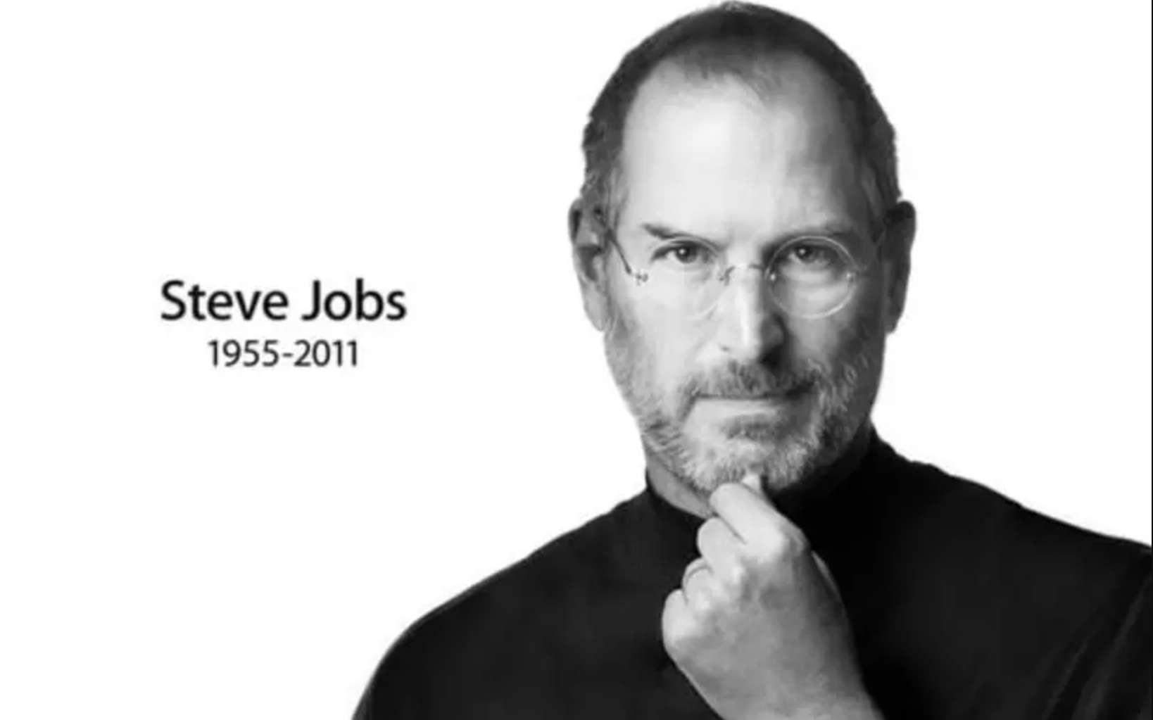 Steve Jobs, un visionnaire de la high-tech décédé en 2011 ! © Apple