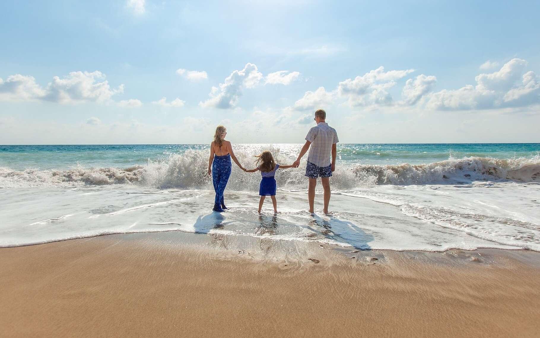 Cet été sur la plage, vous craignez les requins ou les coups de soleil ? Des chercheurs suggèrent que vous devriez plutôt vous méfier de vos incursions dans l'eau. Celles-ci seraient en effet à l'origine de modifications importantes et dommageables du microbiote de votre peau. © Pexels, Pixabay License