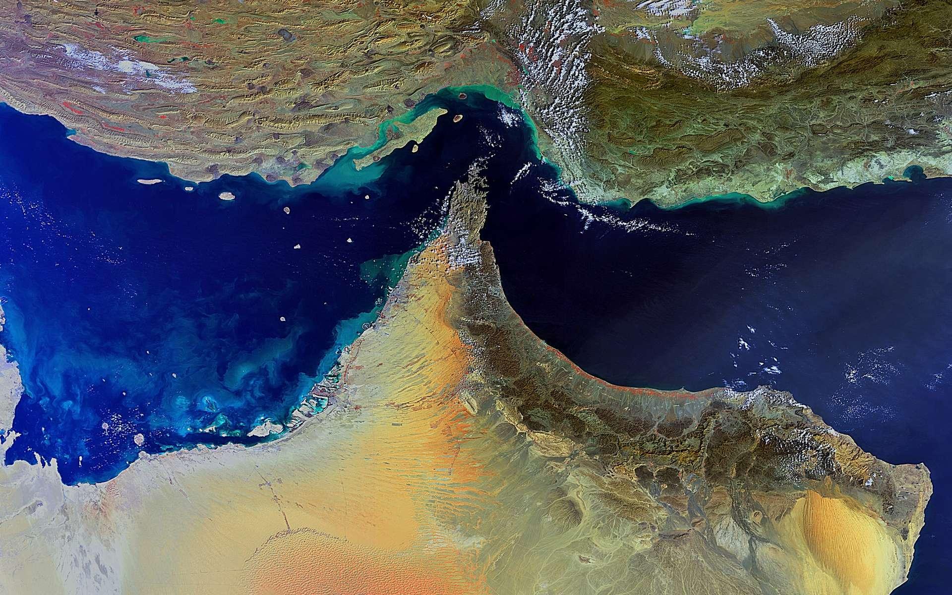 Cette image a été prise le 4 février par la caméra Meris (Medium Resolution Imaging Spectrometer) d'Envisat, avec une résolution au sol de 300 mètres. © Esa