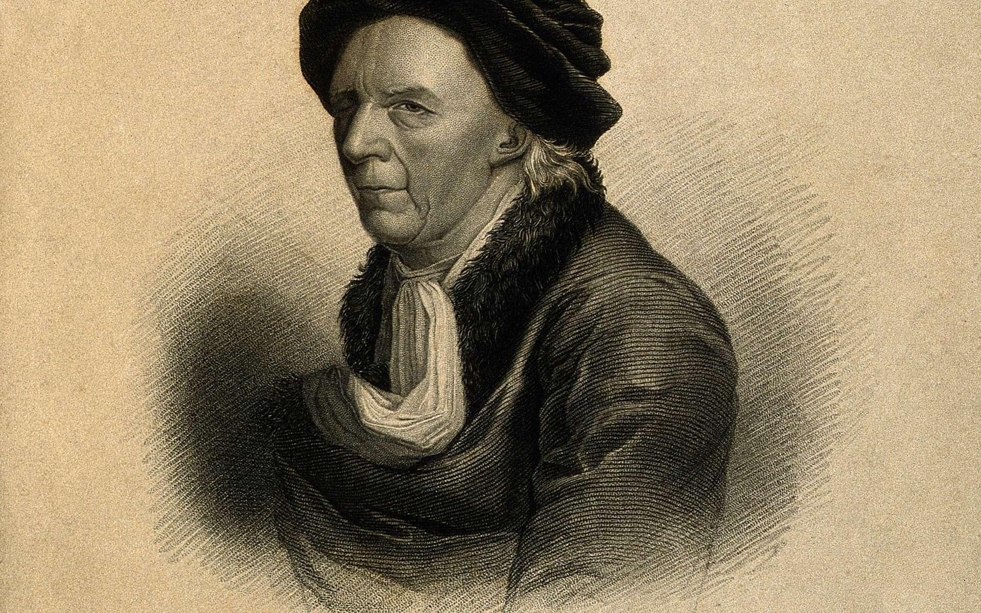 Leonhard Euler. Gravure au pointillé d'après J. Darbes. © Wellcome Images, Wikimedia Commons, CC by-sa 4.0