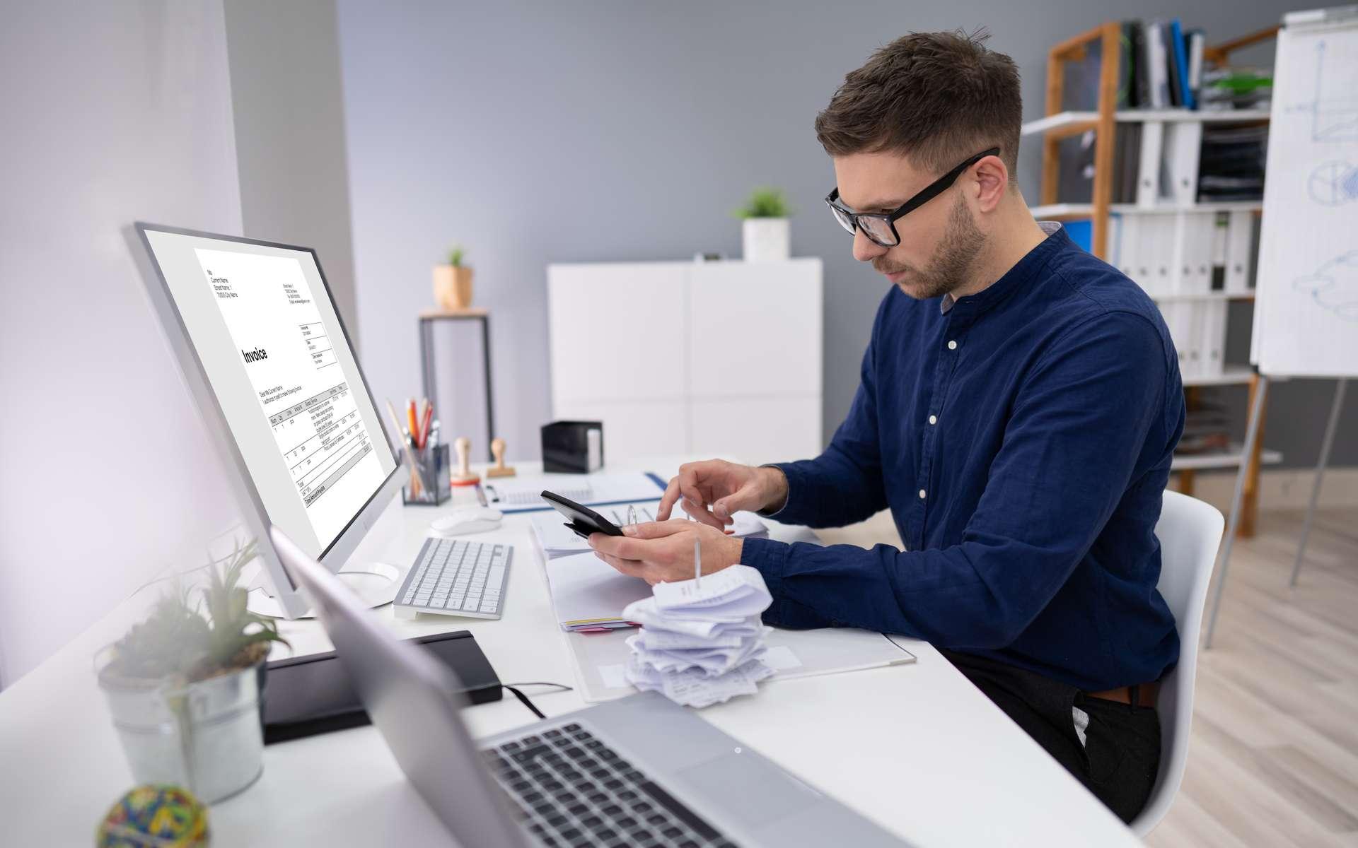 Un logiciel de facturation améliore la gestion de l'entreprise. © Andrey Popov, Adobe Stock