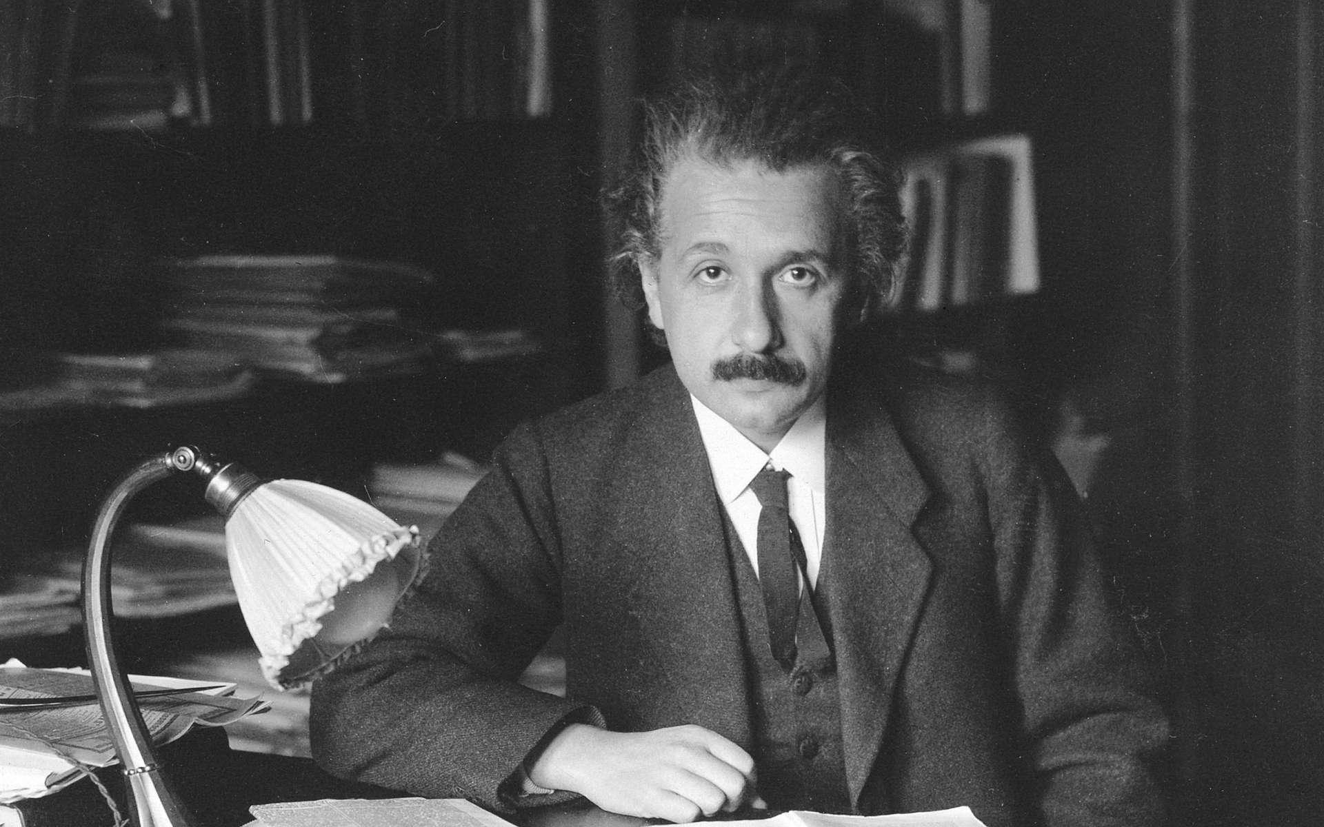 Albert Einstein vers 1920. © DP