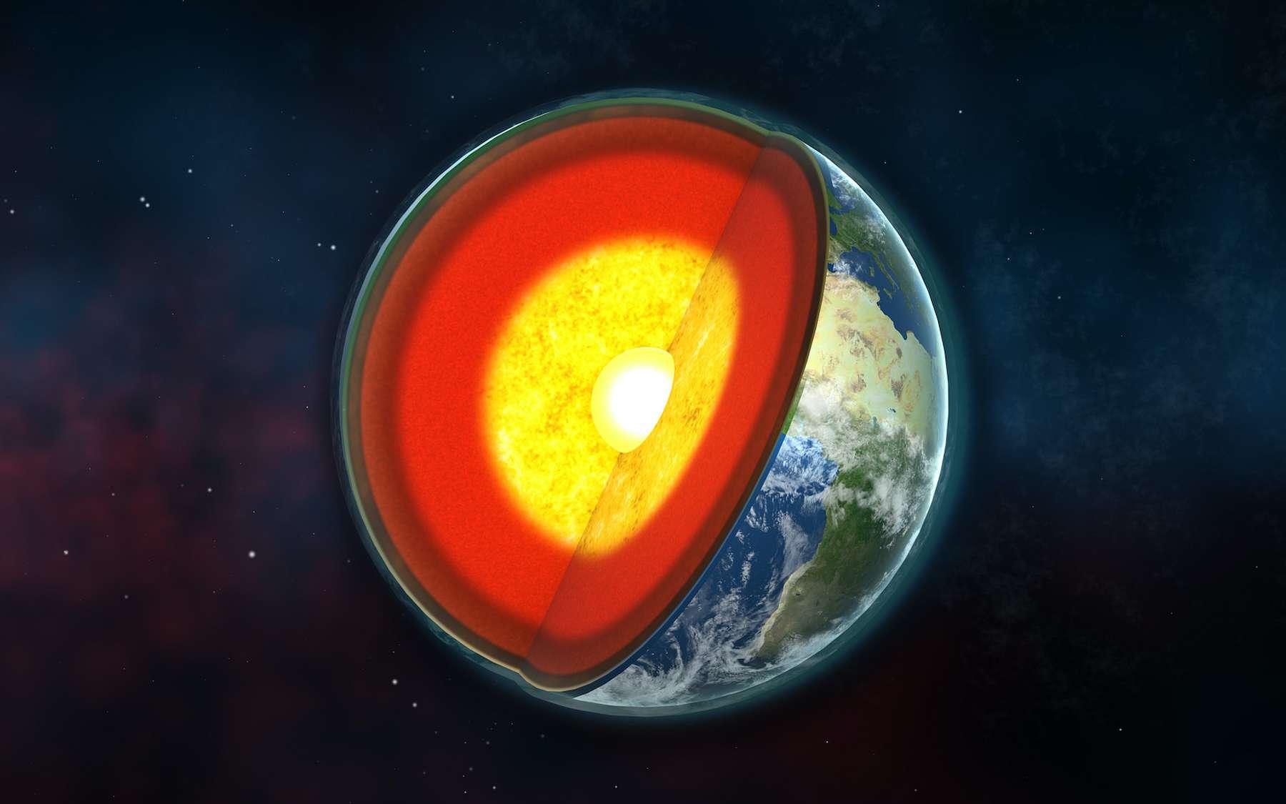 L'asthénosphère se trouve à environ 100 km de profondeur sous les océans, et à 170 km sous les continents. © José F. Vigil, Wikimedia Commons, CC by-sa 3.0