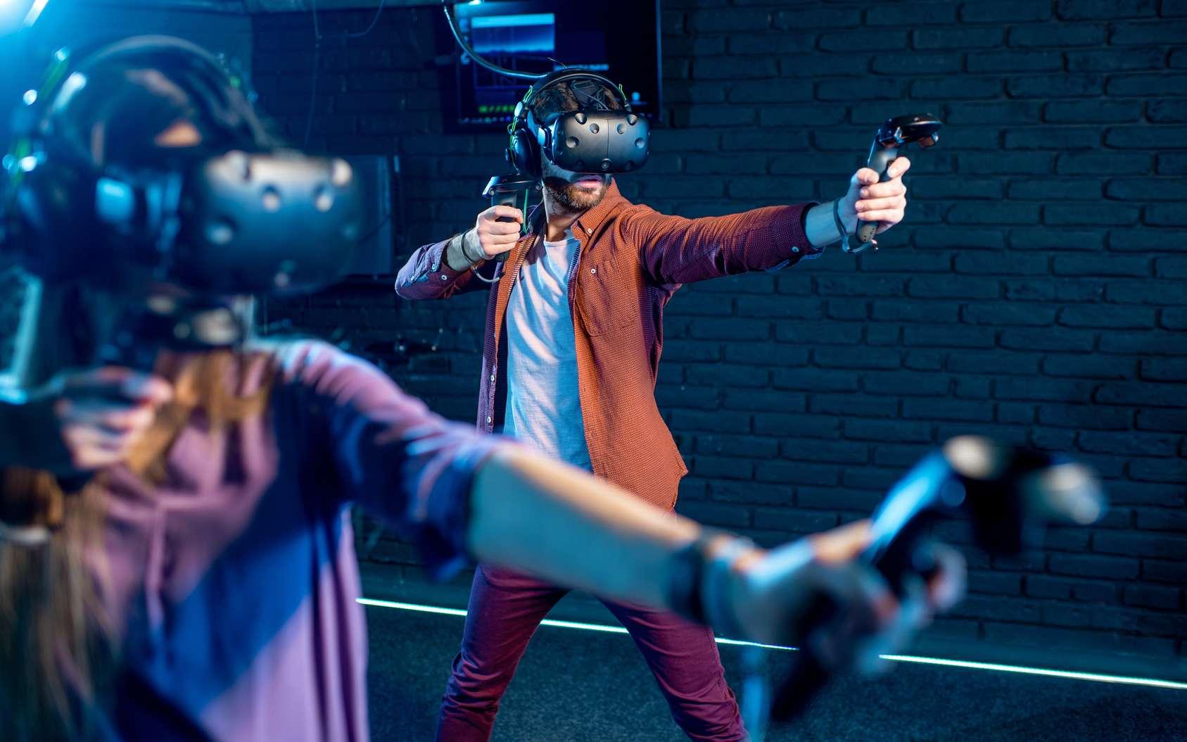 Parvenir à diffuser en temps réel le son qui correspond à une action déclenché par l'utilisateur en immersion VR est un véritable challenge. © rh2010, Fotolia