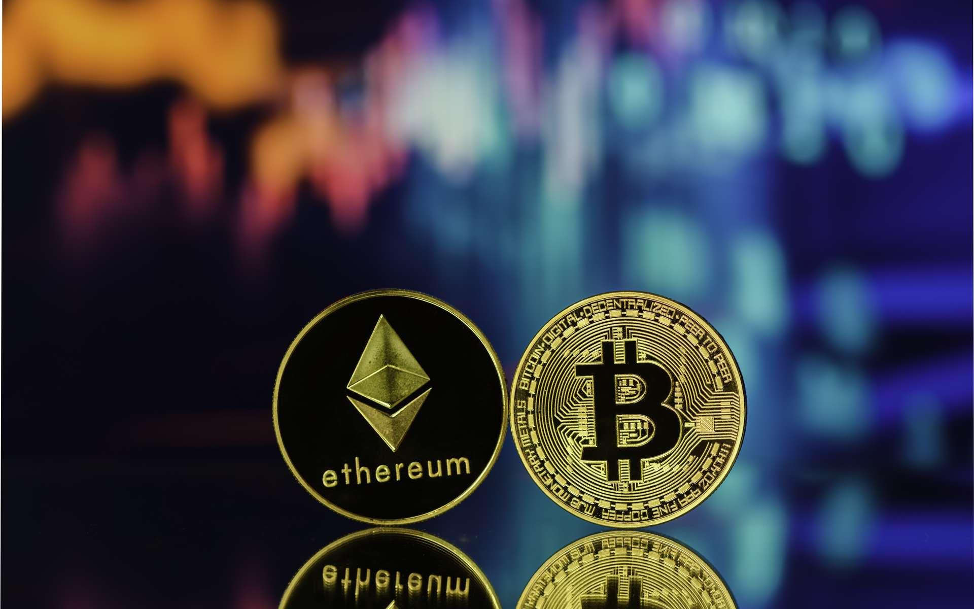 Le Bitcoin (BTC) est-il différent de l'Ethereum (ETH) ? © CLement, Adobe Stock