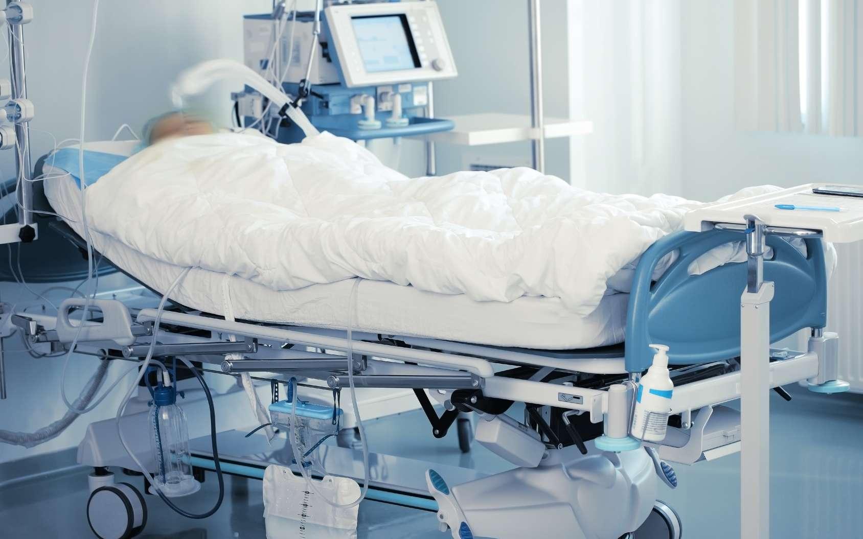 La mort cérébrale correspond à l'arrêt du cerveau, et donc du cœur et de la respiration. Dans le coma, en revanche, les fonctions cérébrales peuvent être maintenues. © Wikimedia Commons, DP