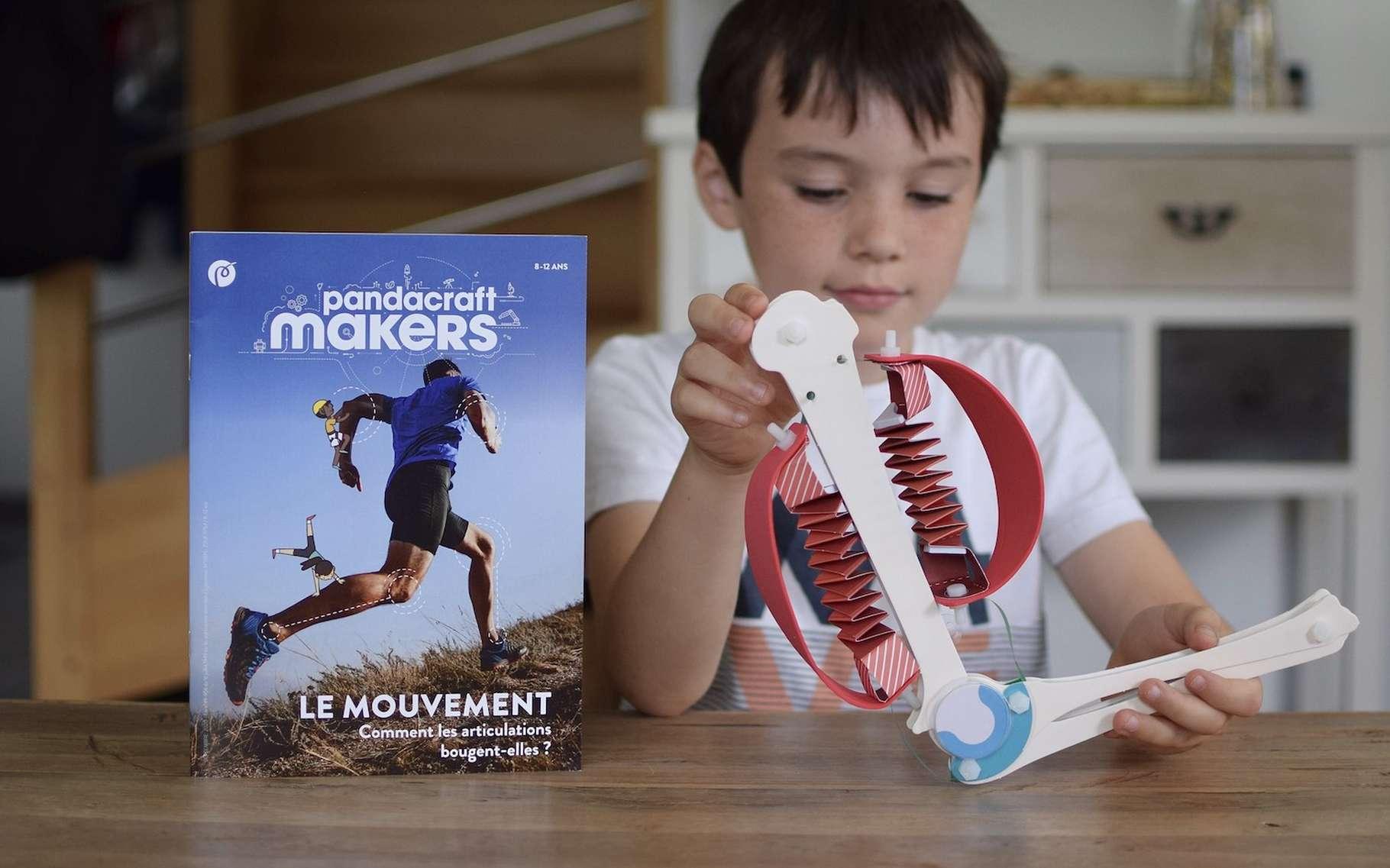 Les kits créatifs et scientifiques Pandacraft misent sur l'expérience pour aider les enfants à apprendre mieux et sans contrainte. © Pandacraft