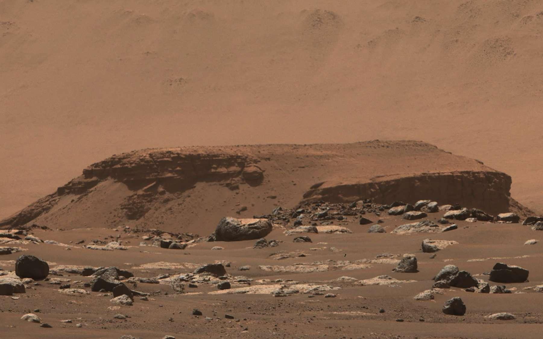 Perseverance a-t-il observé une roche qui permettrait de dater précisément les trois ères martiennes ? - Futura