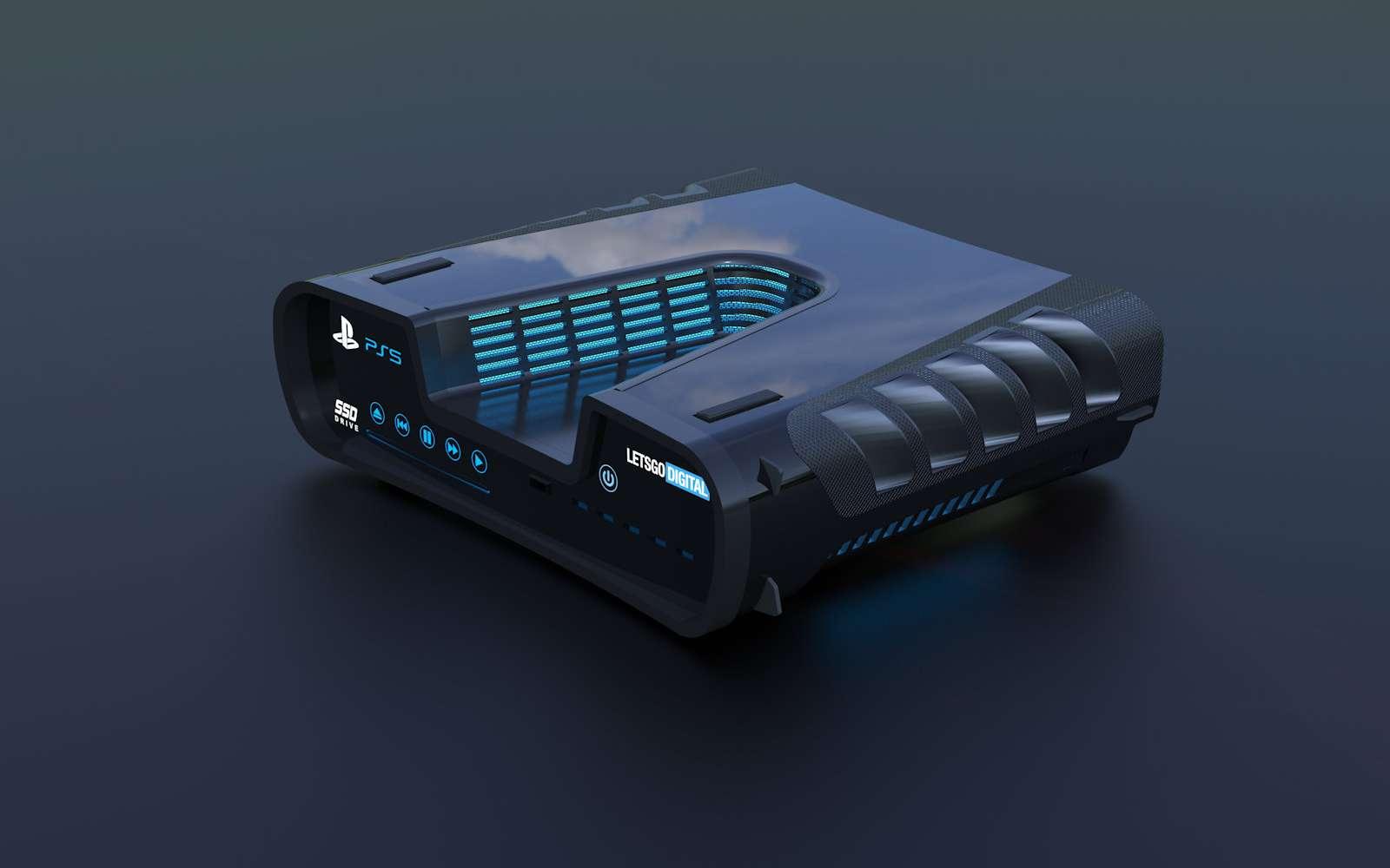 La PS5 marquera un tournant dans l'histoire des consoles de jeu avec un design qui s'annonce révolutionnaire. © LetsGoDigital