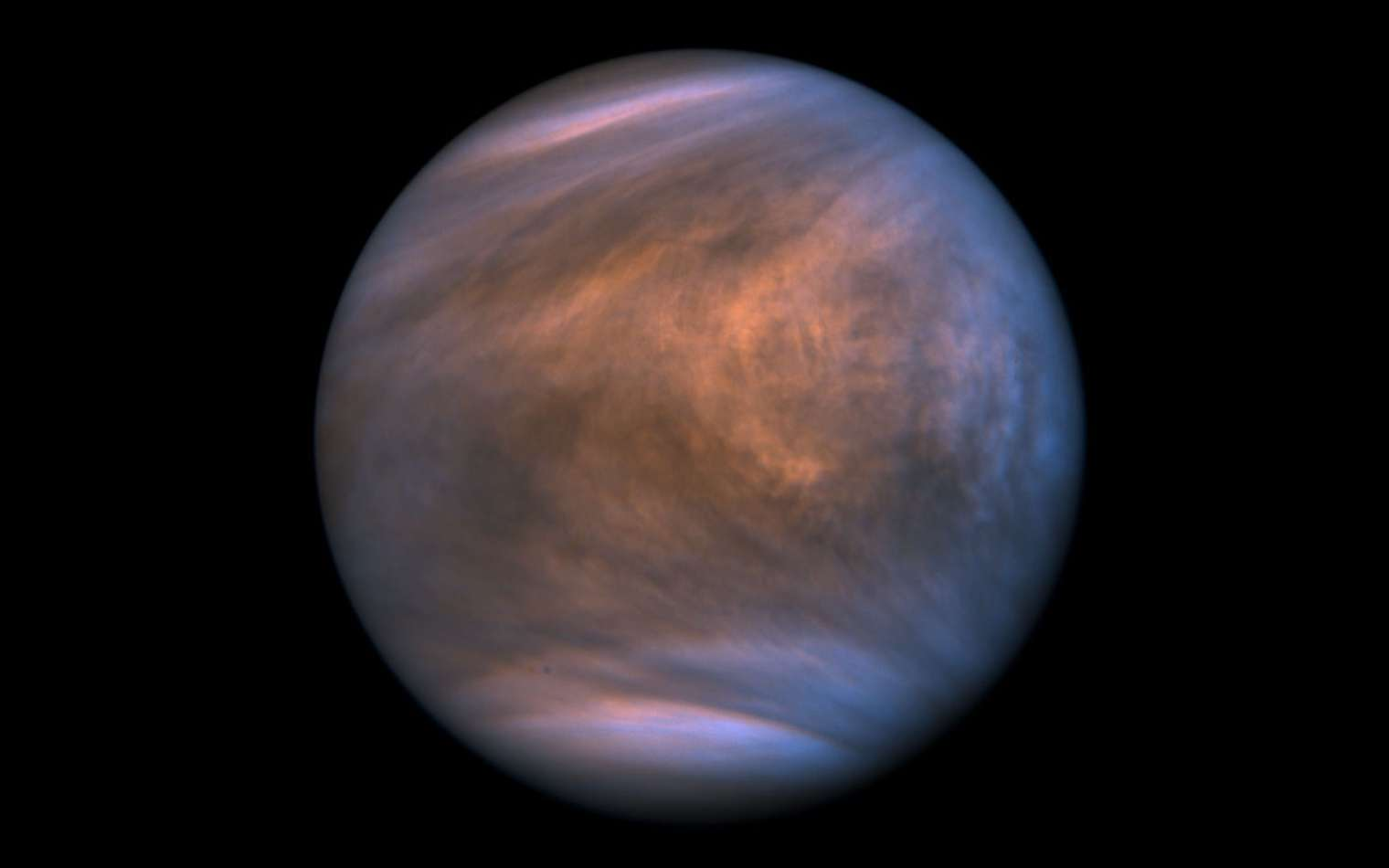 Notre voisine Vénus vue par la sonde japonaise Akatsuki. © Isas, Jaxa, Akatsuki, Meli thev