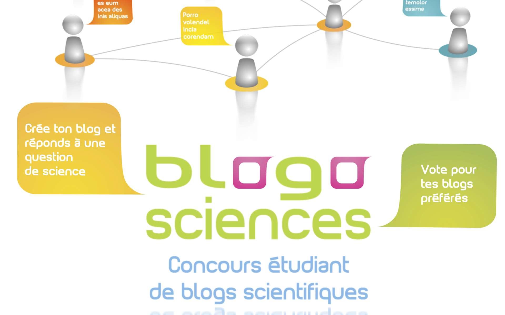 Participez au concours Blogosciences et faites partager votre blog scientifique. © Blogosciences