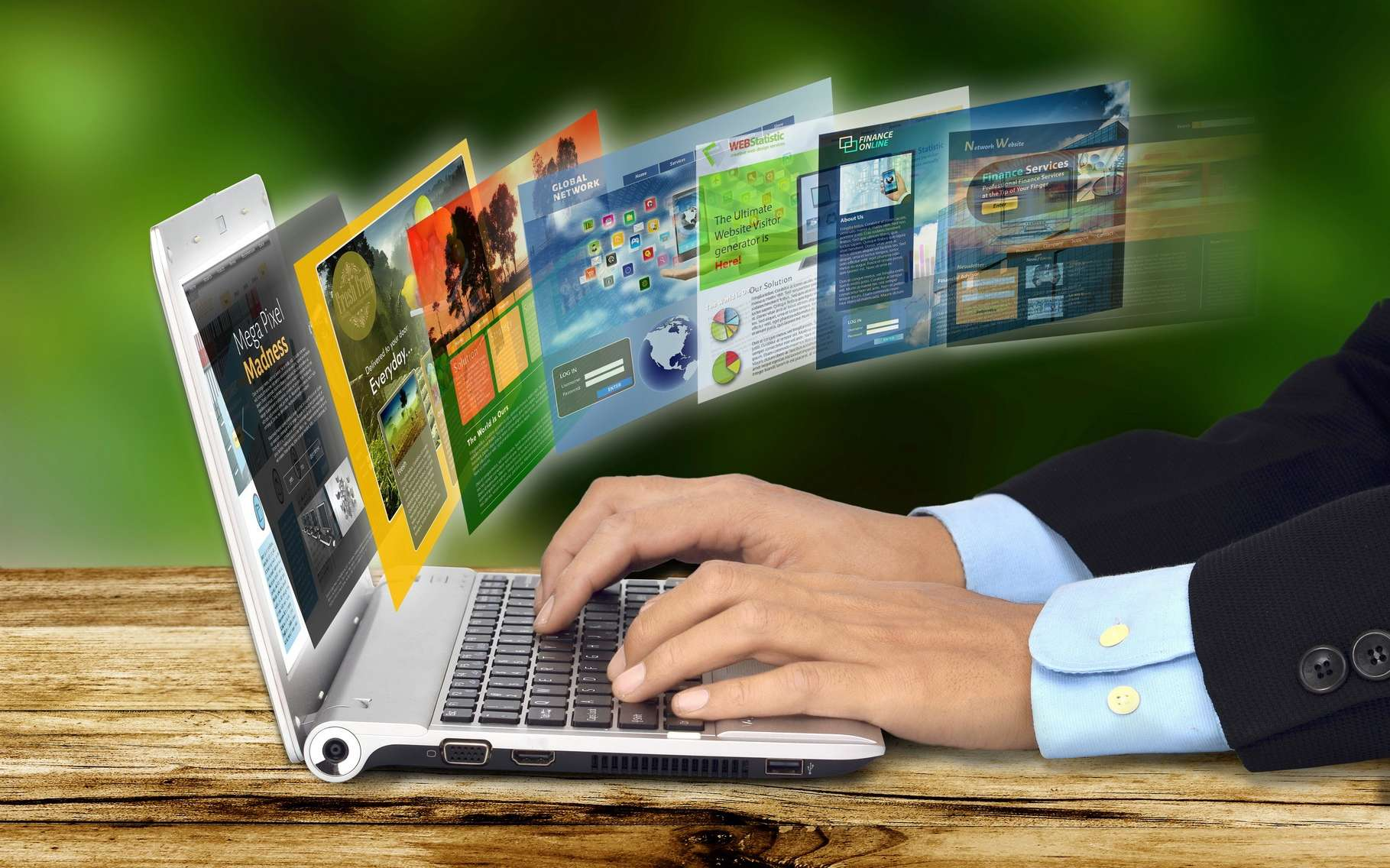 Avec le haut débit, les internautes se sont accoutumés à un chargement des pages presque instantané. Or, les sites Web sont de plus en plus complexes et il faut trouver le moyen de rendre la navigation toujours plus rapide. © Nmedia, Shutterstock