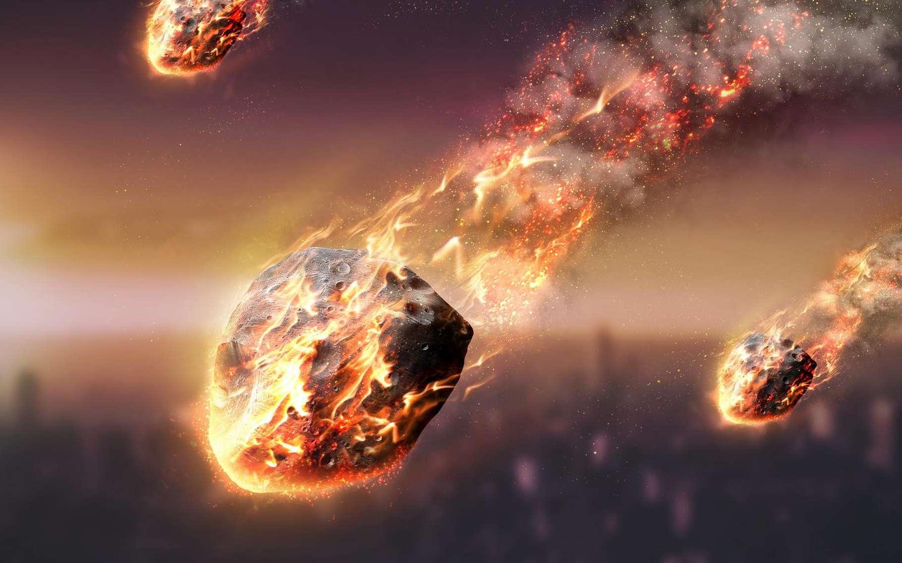 Un homme a été victime d'une explosion, à Natrampalli, en Inde. Il semble qu'une météorite soit responsable de sa mort, selon l'enquête. Dans ce cas, ce serait le premier cas connu dans l'Histoire. © Vadim Sadovski, Shutterstock