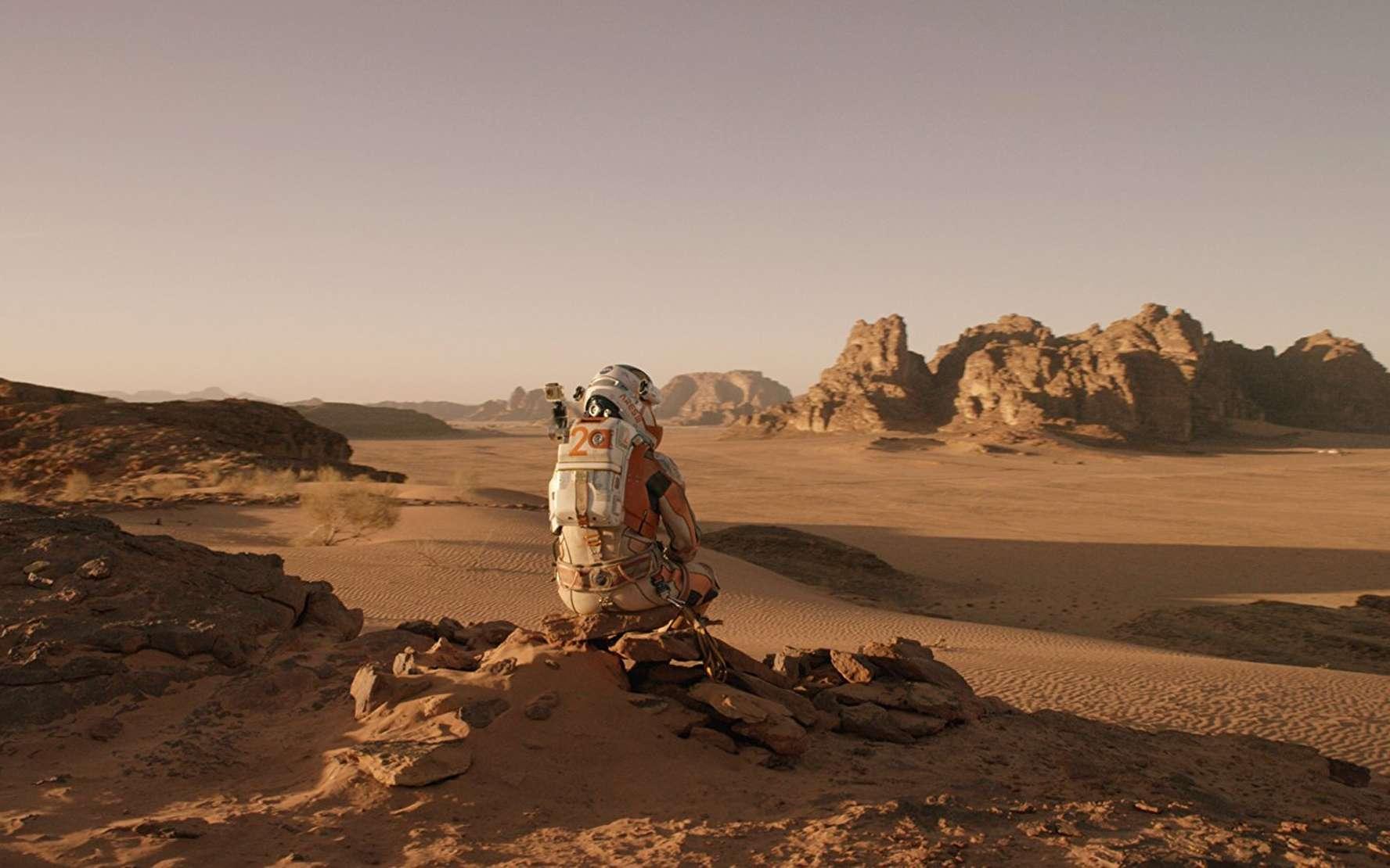 Seul sur Mars offre un aperçu des défis qui attendent les futurs colons martiens. S'ils veulent rester sur le long terme sur la Planète rouge, ils devront cultiver leur propre nourriture. © Twentieth Century Fox, 2015