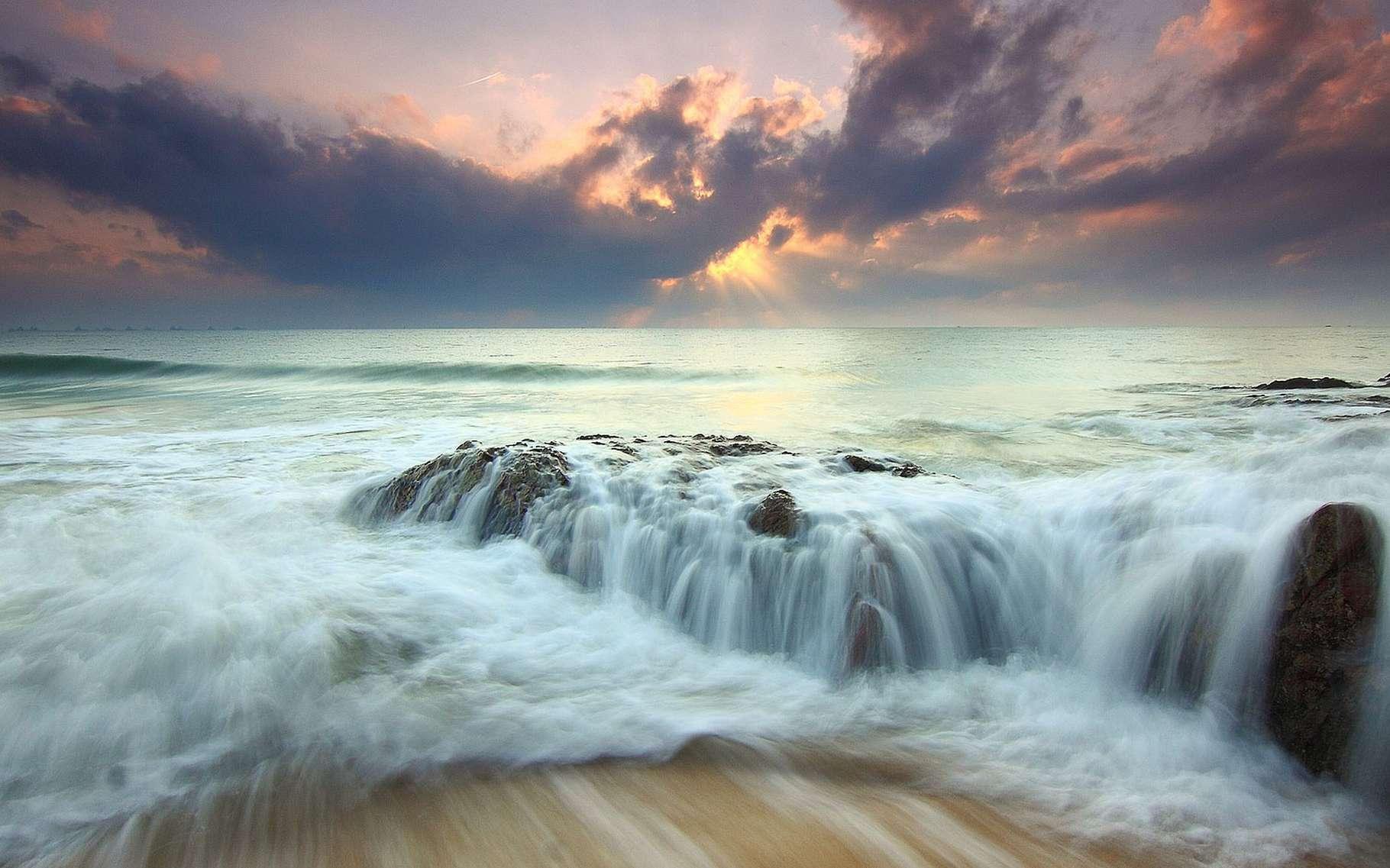 Comment l'eau devient-elle et reste-t-elle liquide ? Où peut-on en trouver ailleurs que sur Terre ? D'où vient celle de notre planète ? Des questions centrales pour comprendre la vie ici et ailleurs... © DR