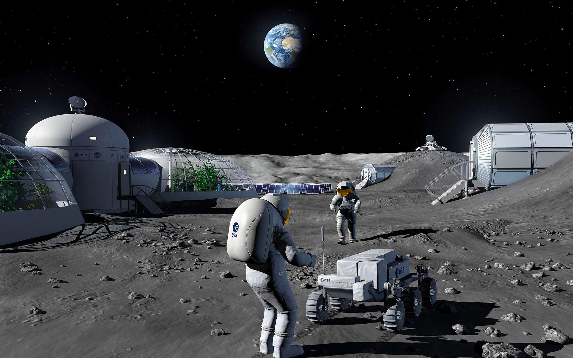 Comment l'ESA se prépare à négocier avec la Nasa la présence d'un Européen sur la Lune - Futura