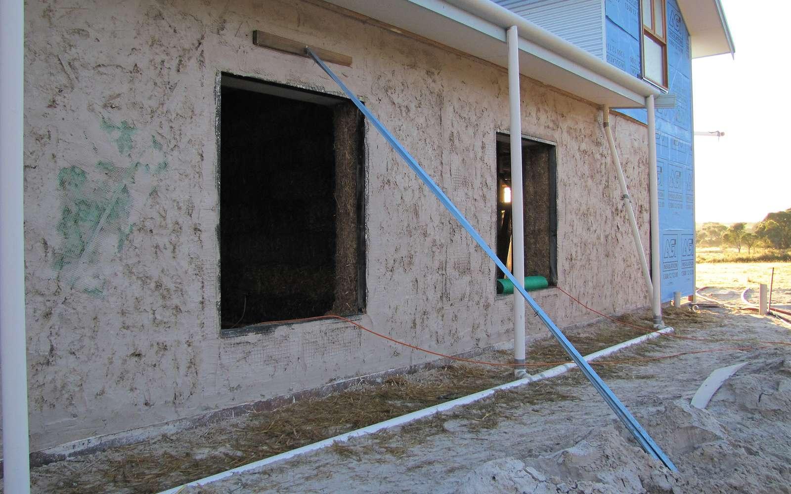 Le crépi sert tout autant à la décoration qu'à la protection des murs. © Brett et Sue Coulstock, Flickr, CC BY-ND 2.0