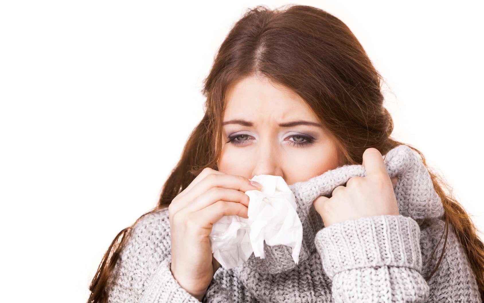 Rhume, grippe : comment faire la différence ? © Voyagerix, Fotolia