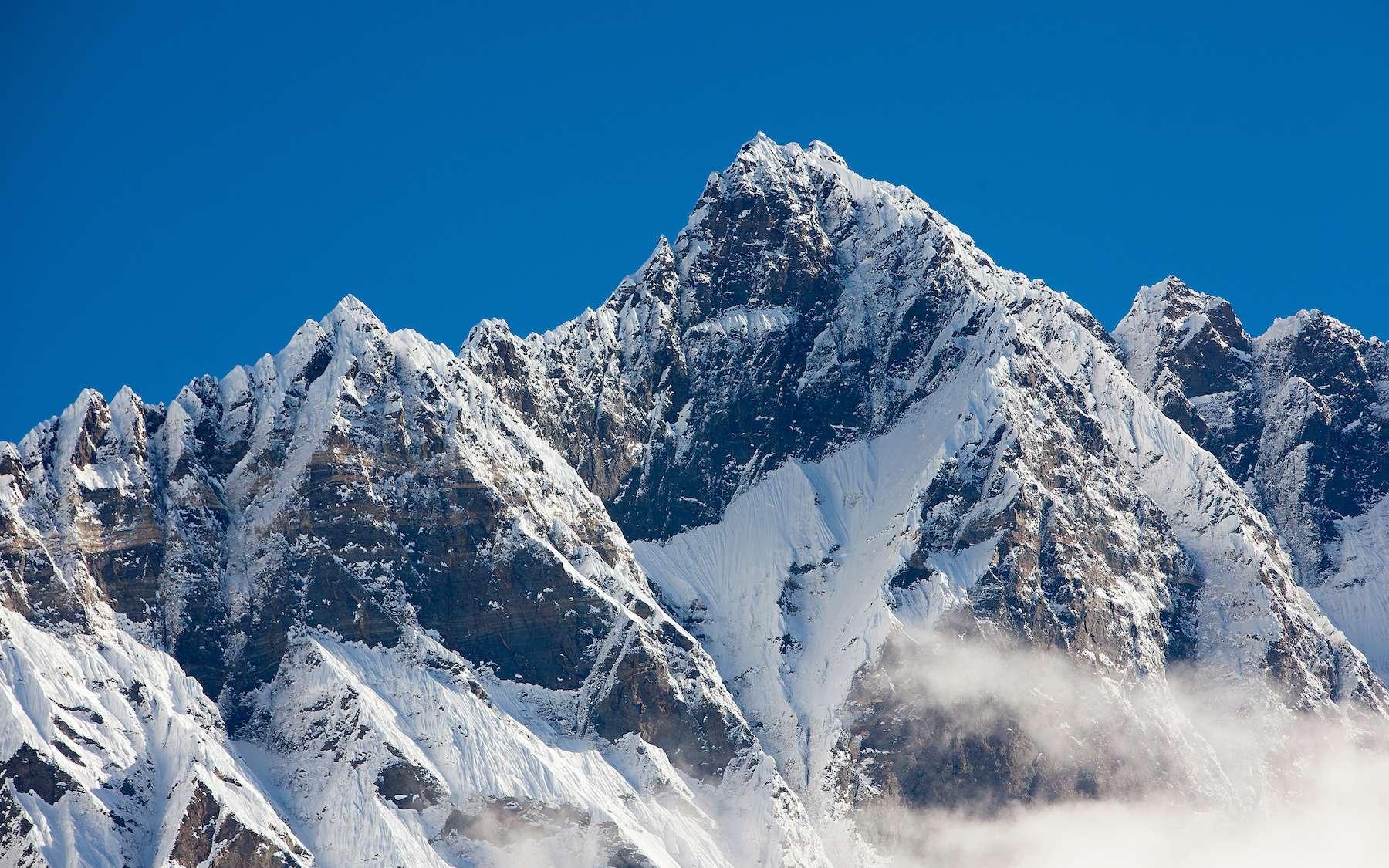 Sur les pentes des glaciers tibétains à plus de 5.000 mètres d'altitude, le rover doit affronter des conditions dignes de la surface de martienne. © Maygutyak, Adobe Stock