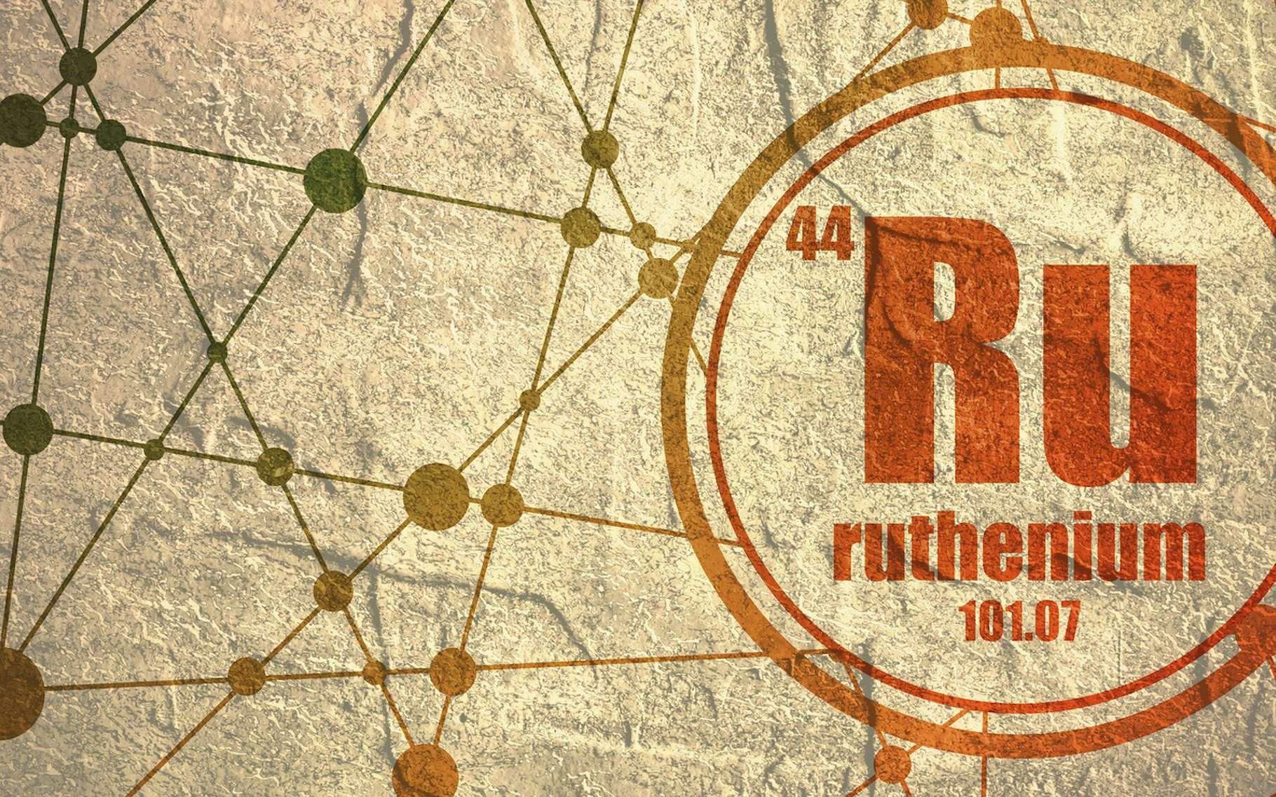 Le ruthénium est un métal de transition dur, cassant et, dans certains cas, ferromagnétique à température ambiante. © Jegas Ra, Fotolia