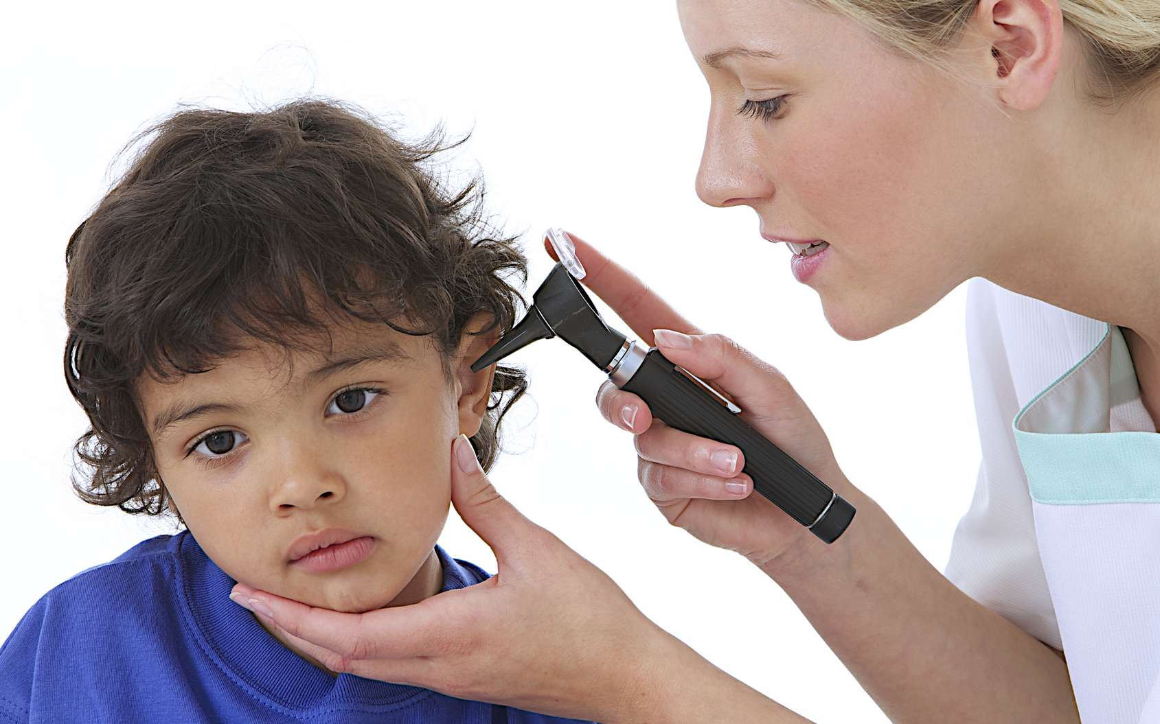 Bientôt plus besoin de courir chez le médecin dès que son enfant a mal à l'oreille. © JPC-PROD, Fotolia