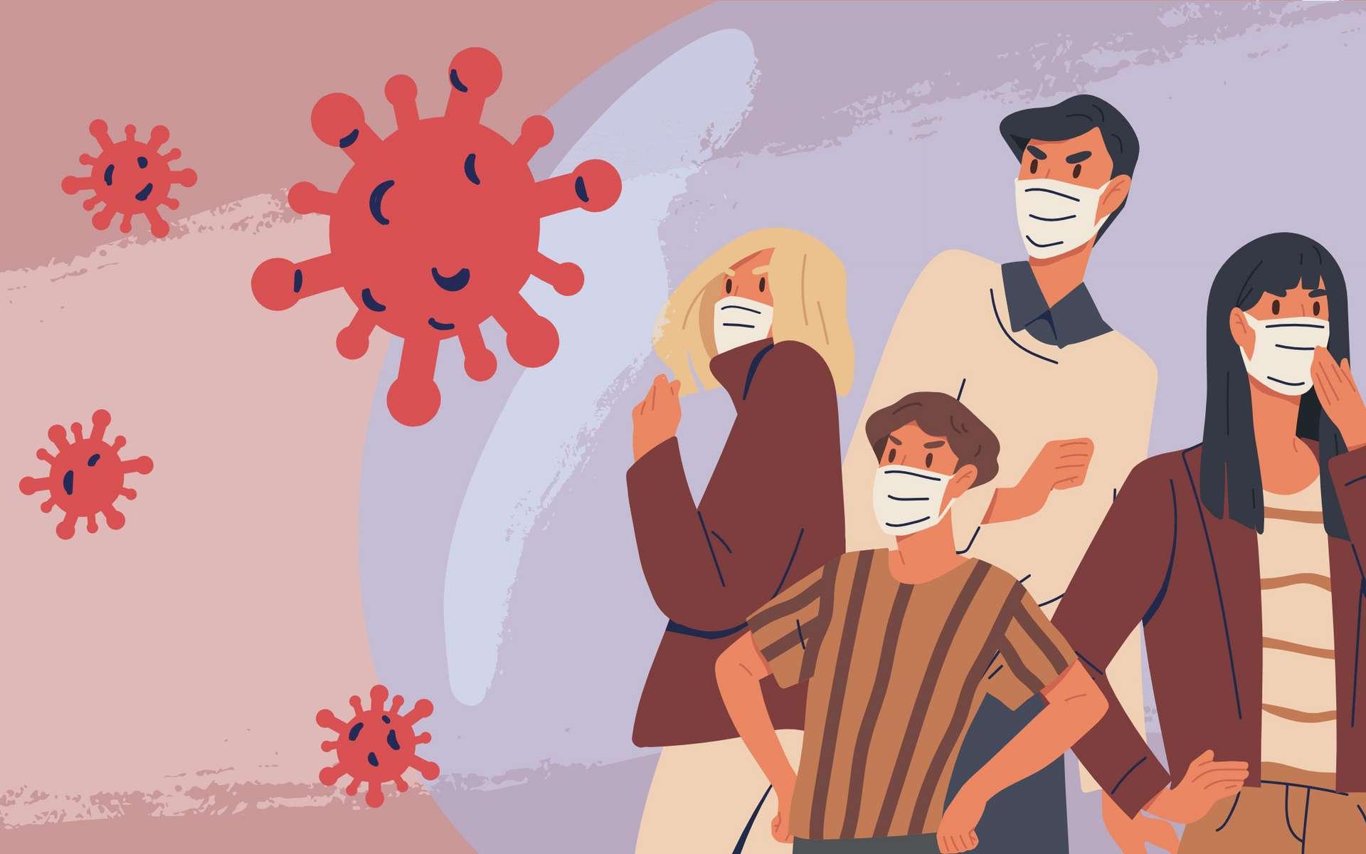 Les personnes de plus de 65 ans sont les plus exposées au risque de réinfection selon une étude danoise. © Good Studio, Adobe Stock