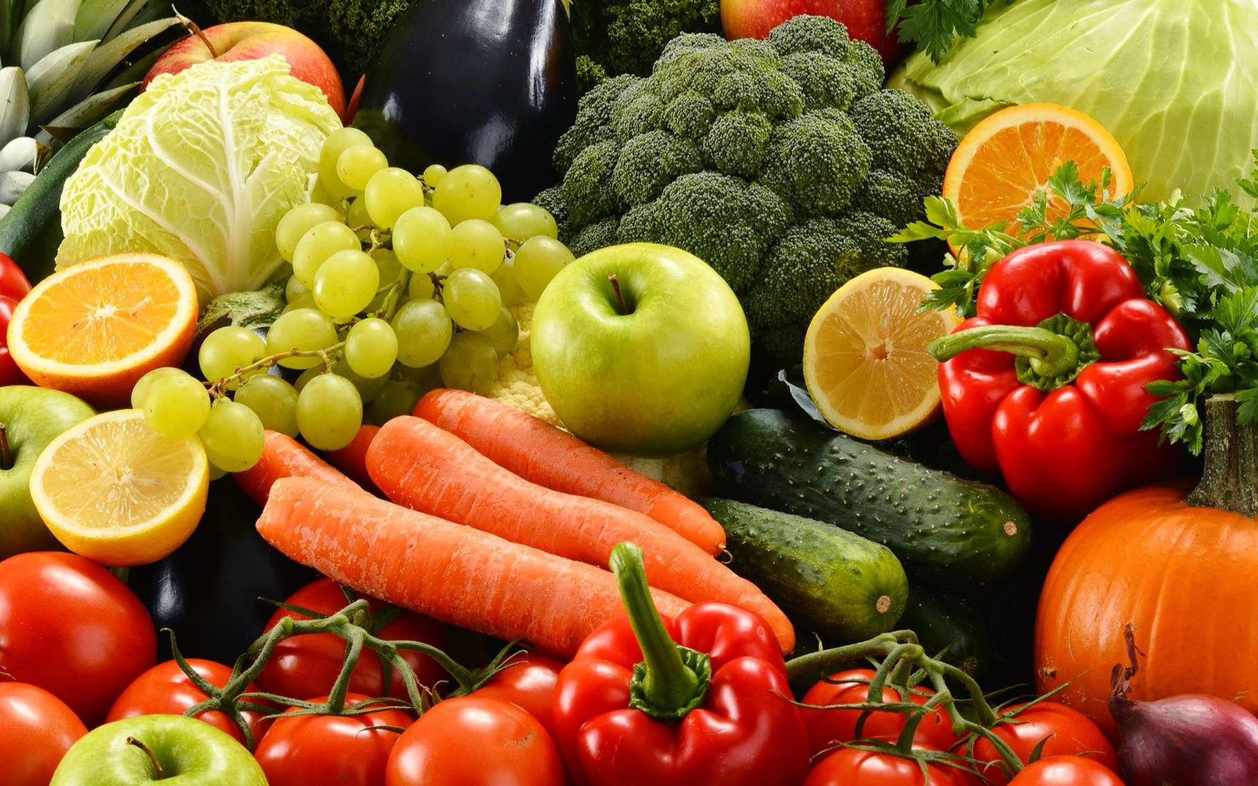 Les fruits et légumes sont des aliments sans gluten. © monticello, Shutterstock